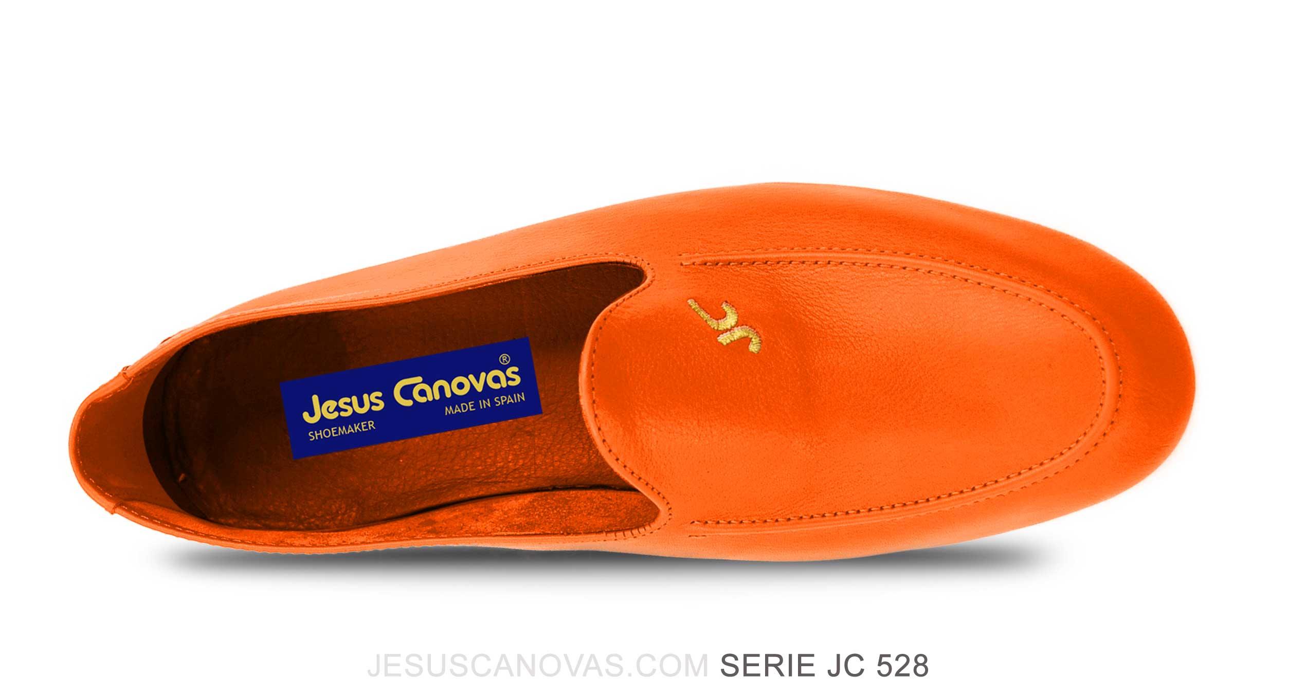 Foto 2 de Zapatos Julio Iglesias Mocasin 528 JC Naranja Napa