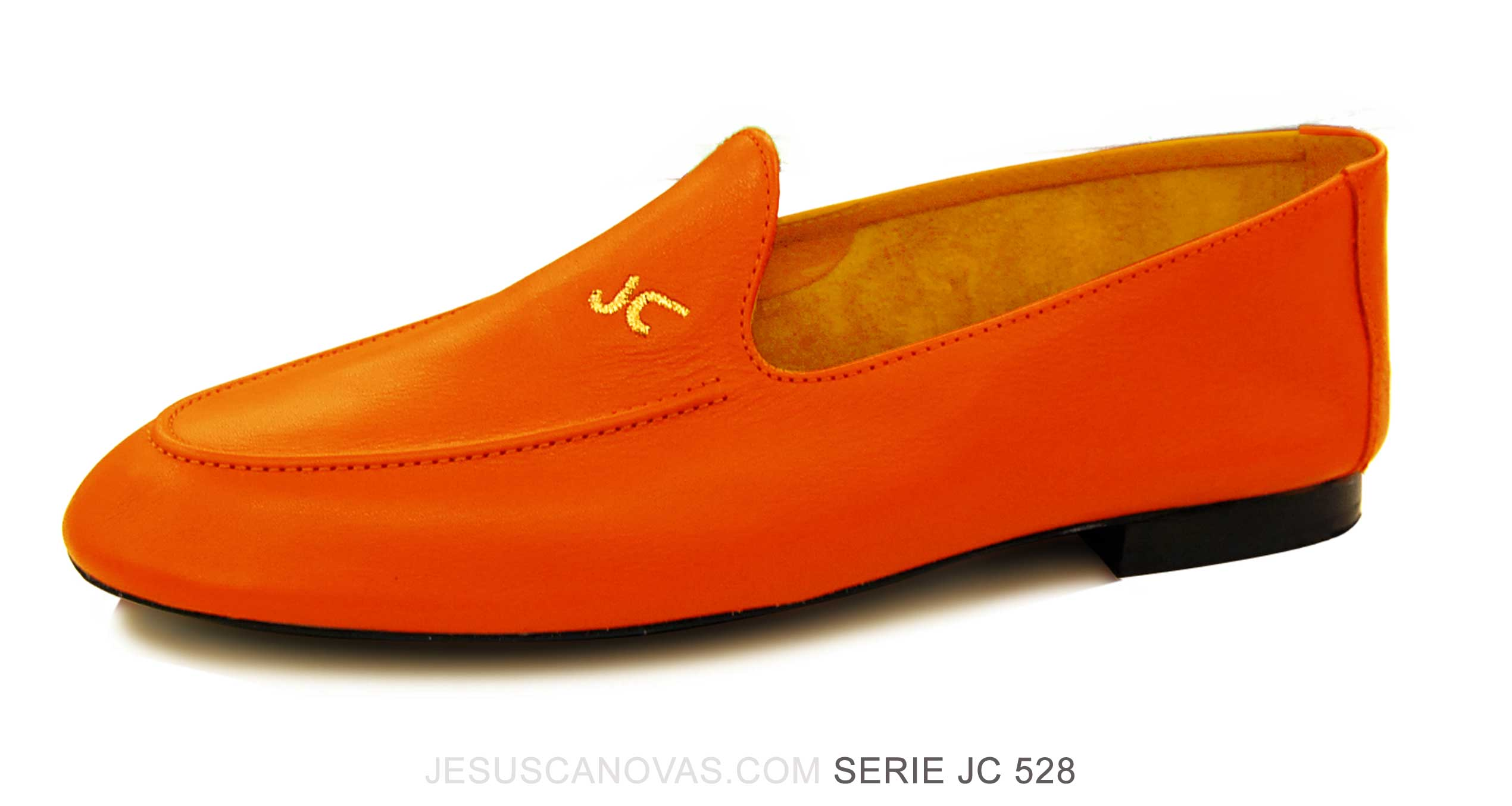 Foto 5 de Zapatos Julio Iglesias Mocasin 528 JC Naranja Napa