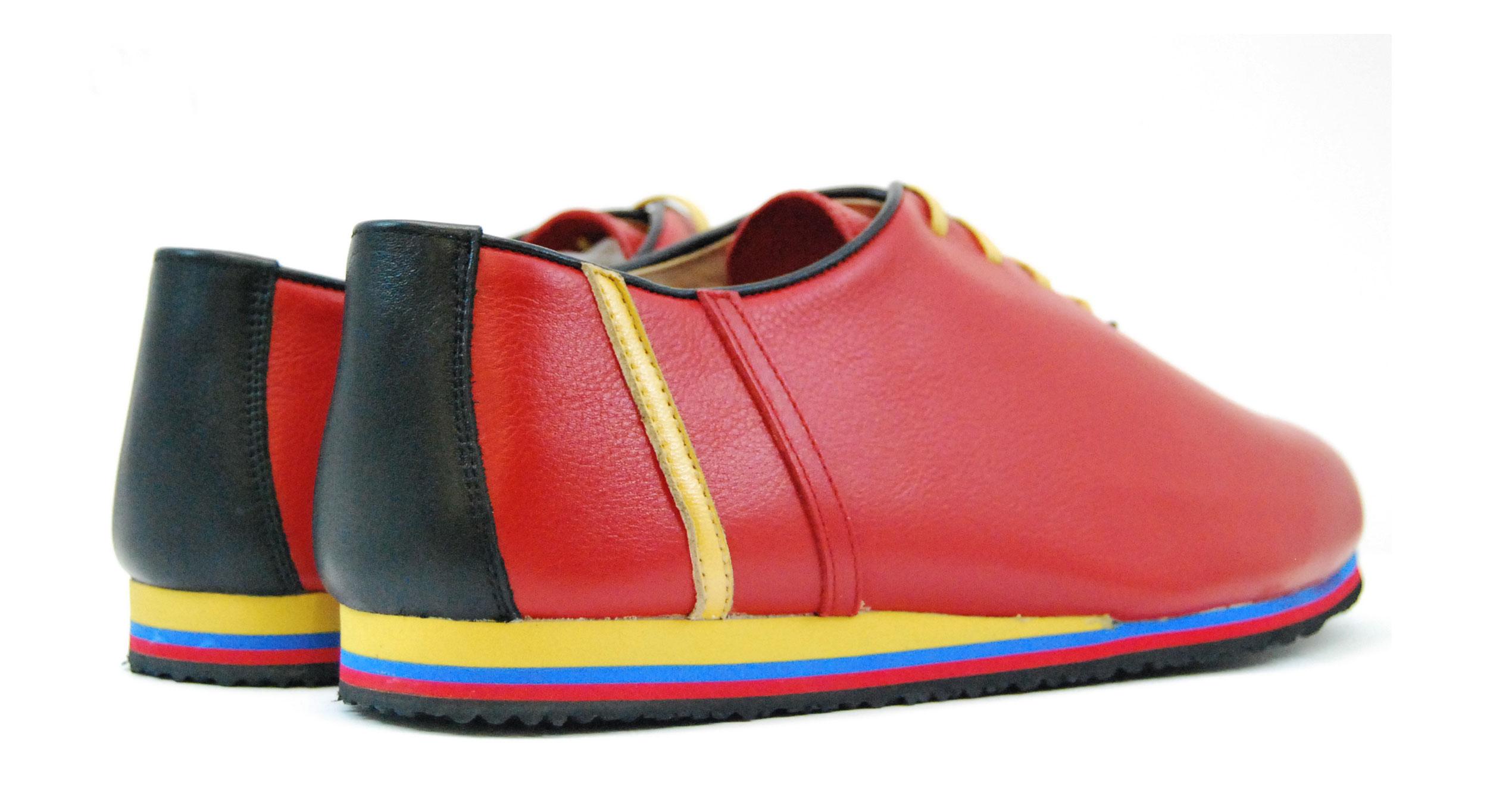 Foto 3 de Sneaker 529 Sport Napa Vacuno Rojo