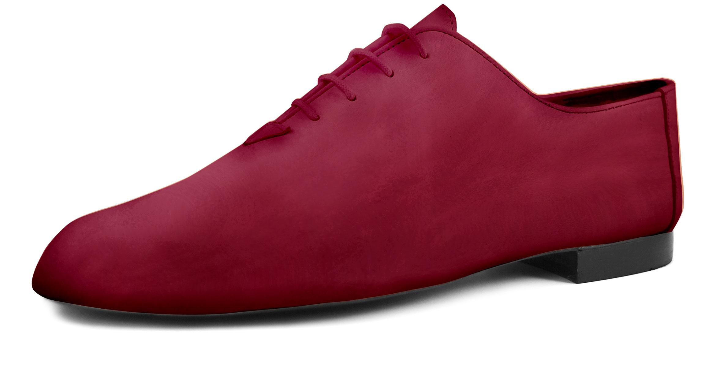 Foto 4 de Zapatos Julio Iglesias Cordon 529 Burdeos Napa
