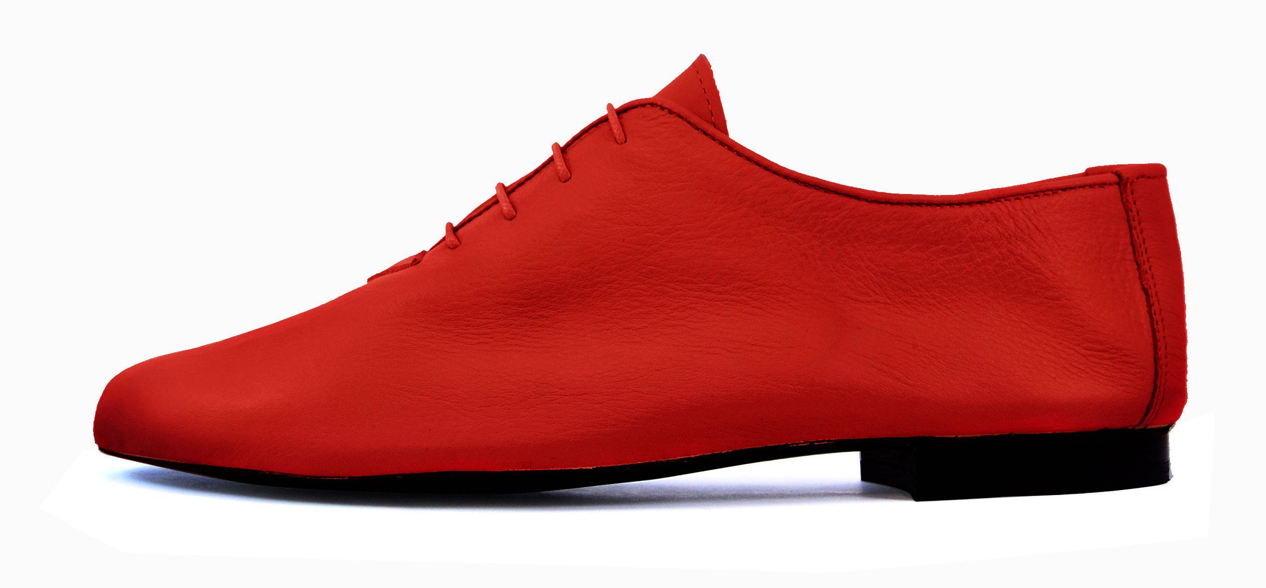 Foto 1 de Zapatos Julio Iglesias Cordon 529 JC Rojo Napa