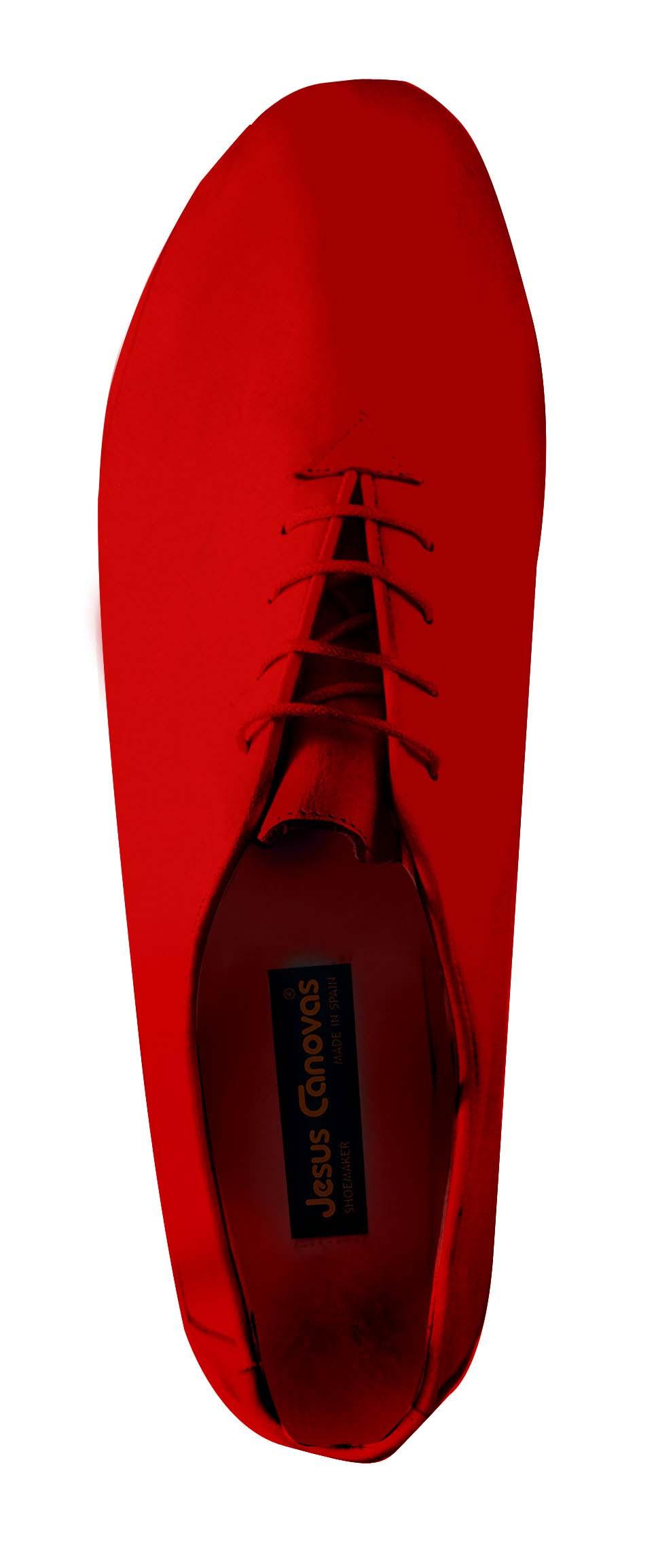 Foto 2 de Zapatos Julio Iglesias Cordon 529 JC Rojo Napa