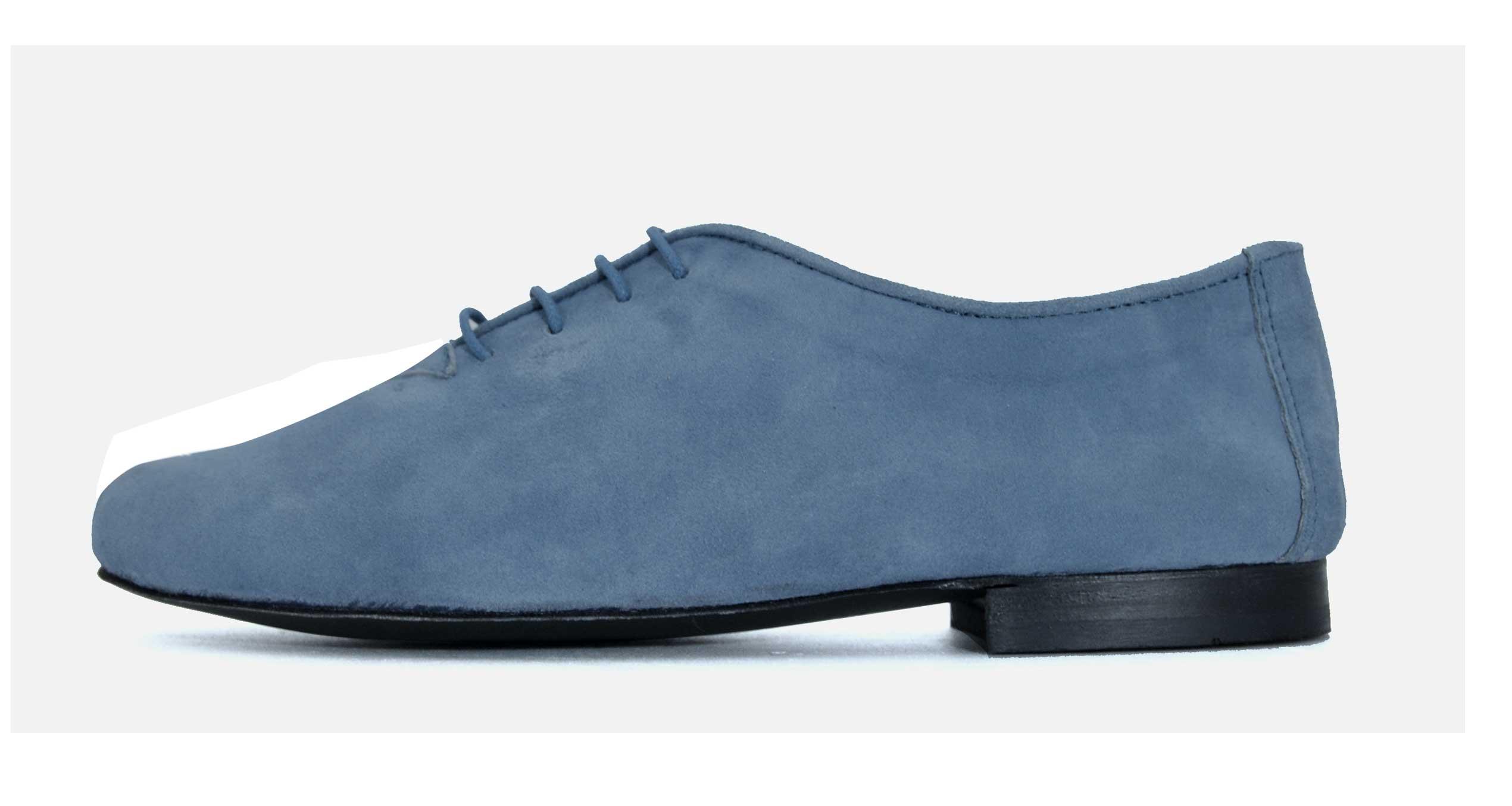 Foto 1 de Zapatos cordon Ante Pastel