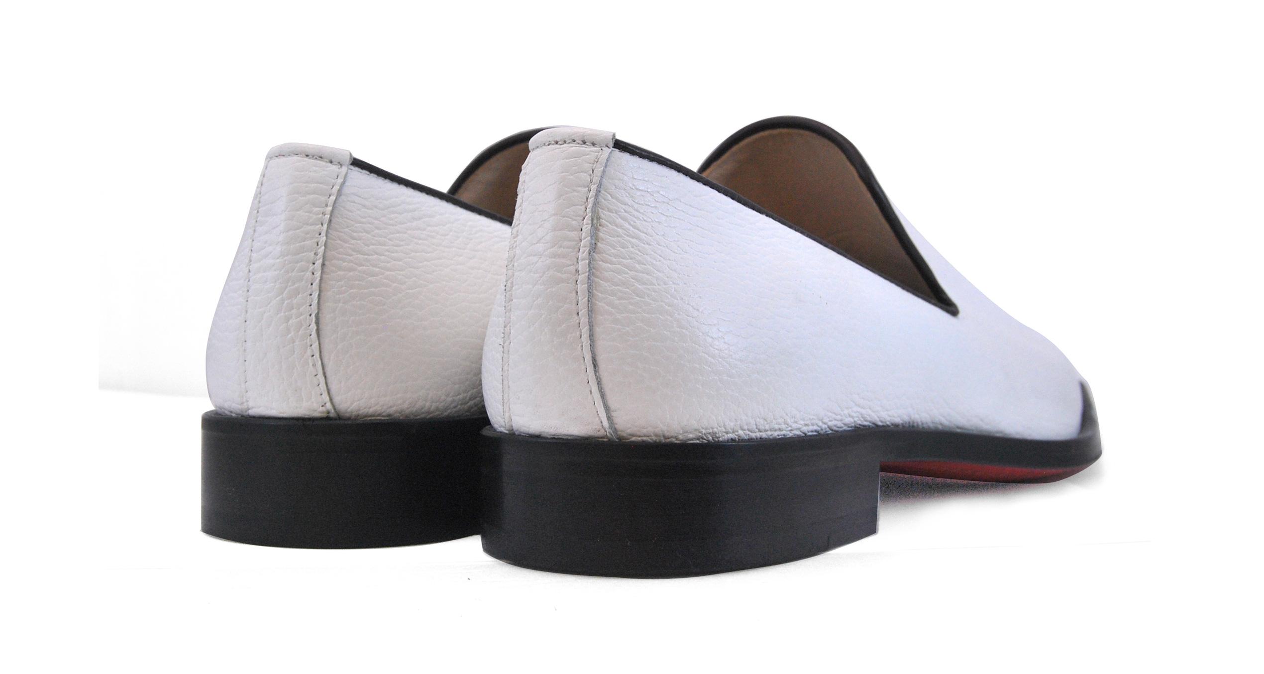 Foto 4 de Zapatos Napa Blanco