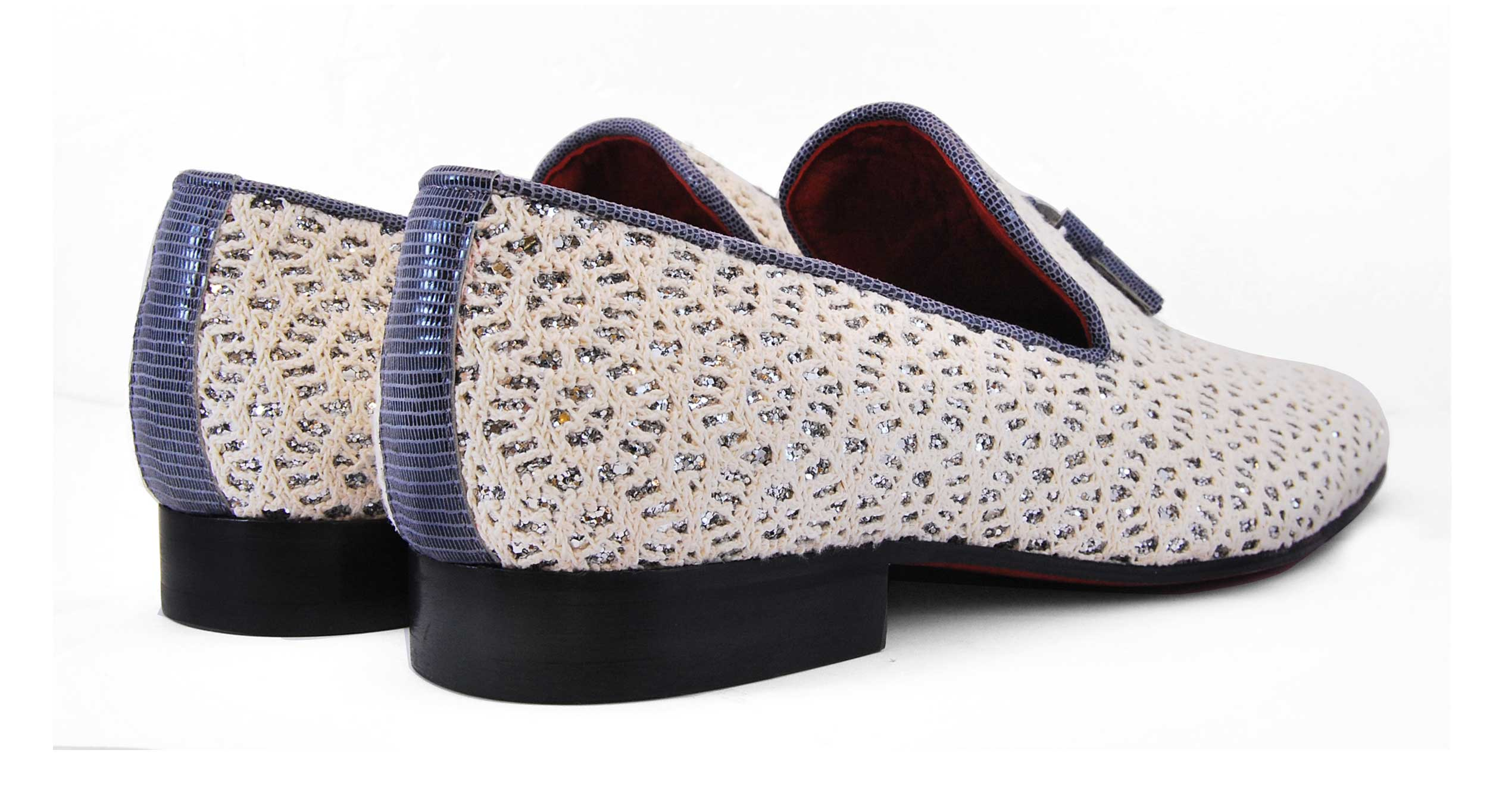 Foto 3 de Zapato Blanco Con Borla Cuero
