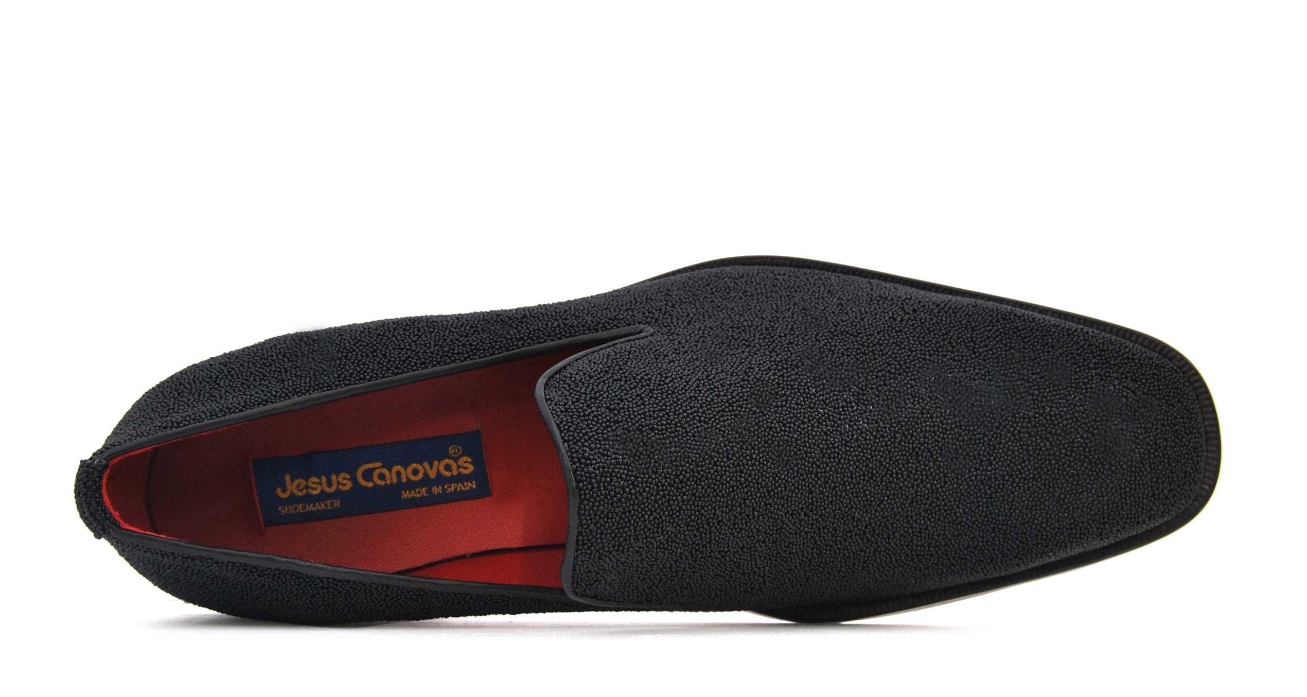 Foto 2 de Zapatos Textura Especial Negro