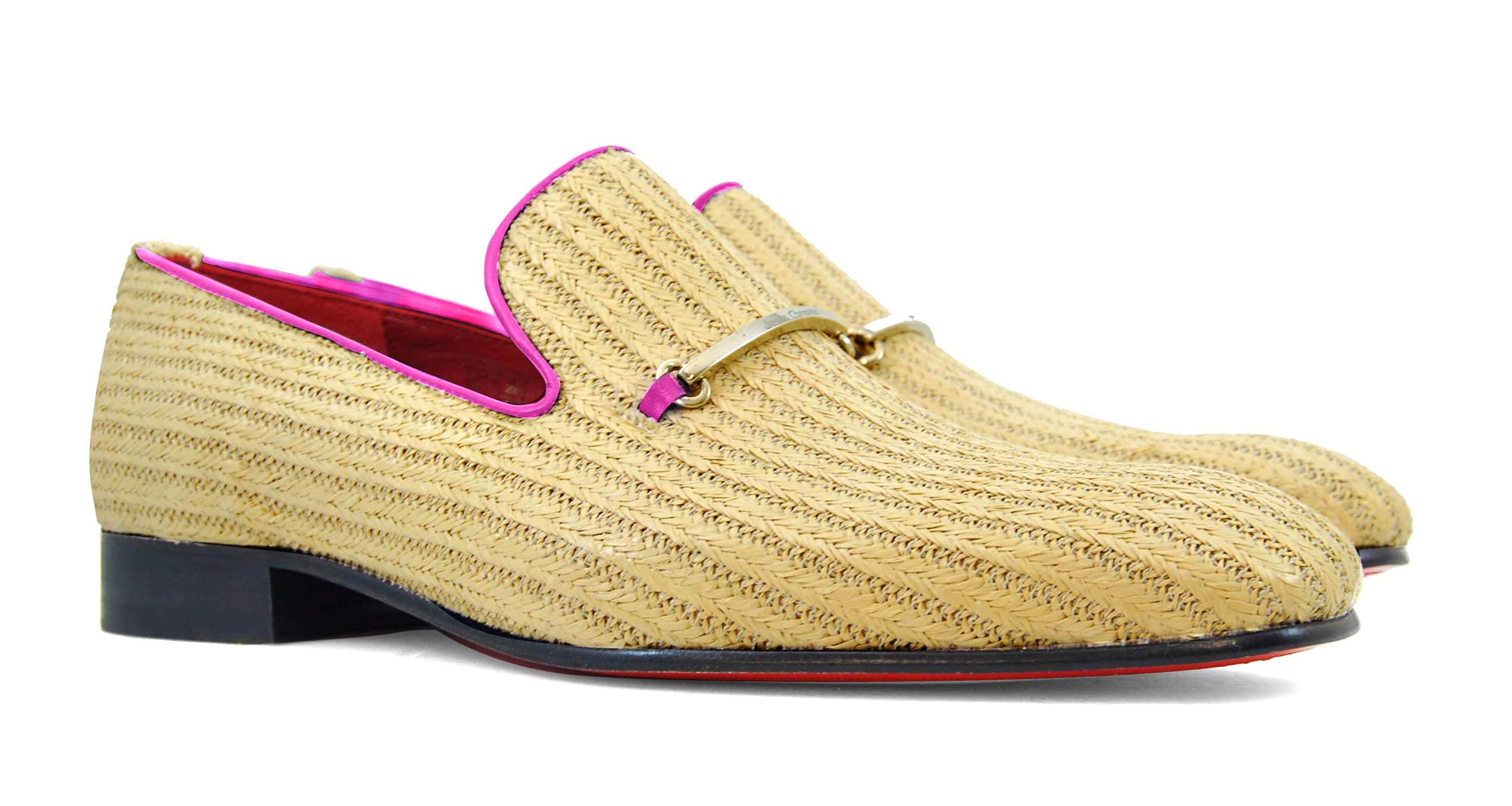 Foto 5 de Zapatos Palma Panameña Con Ribete Rosa