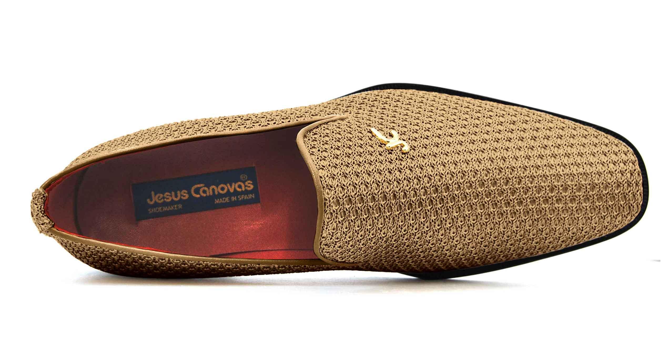 Foto 2 de Zapatos Trenza Seda Cobre Con JC Dorado