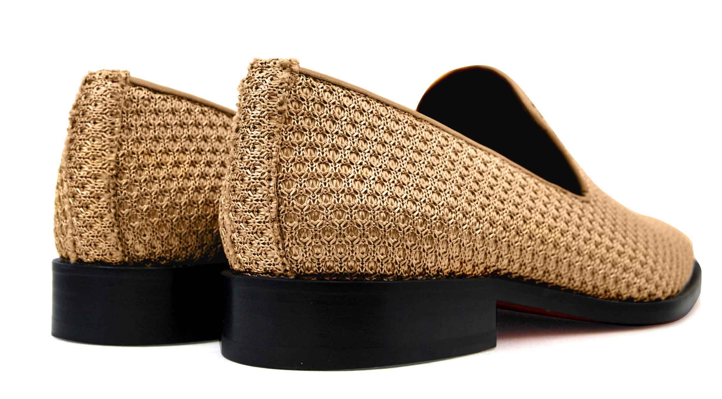 Foto 4 de Zapatos Trenza Seda Cobre Con JC Dorado