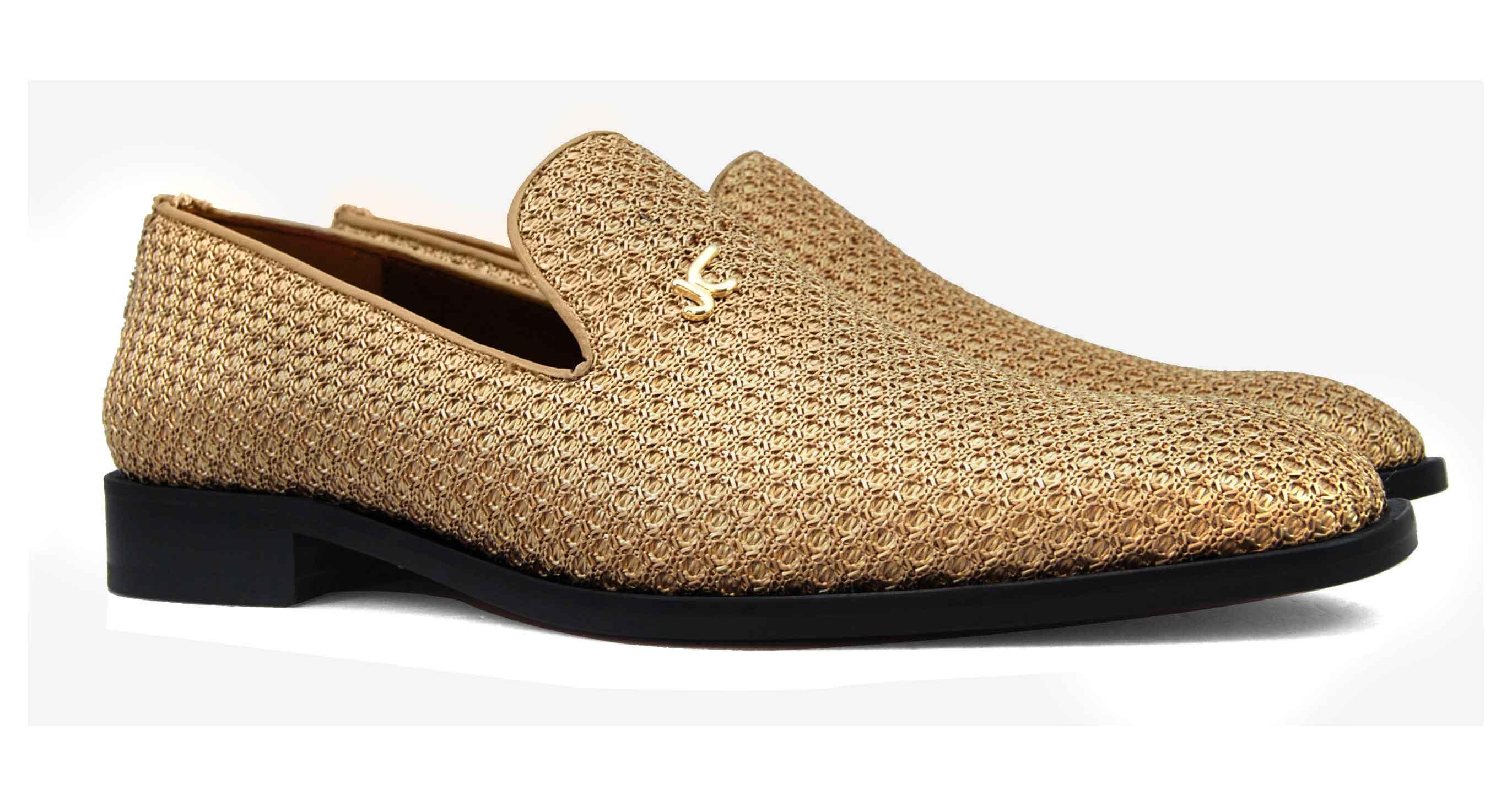 Foto 5 de Zapatos Trenza Seda Cobre Con JC Dorado
