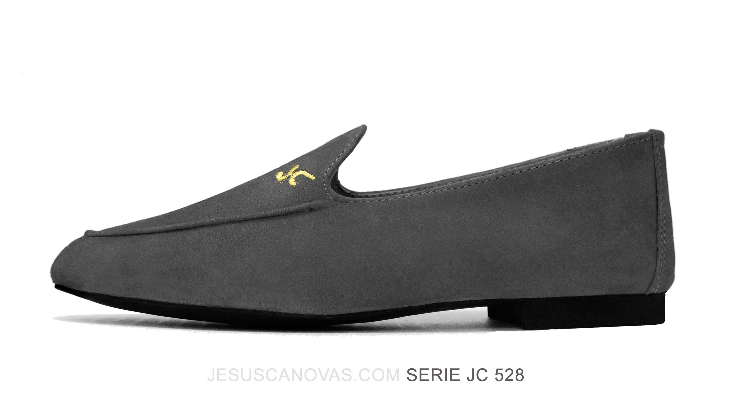 Foto 1 de Zapatos Julio Iglesias Mocasin Graphite Ante