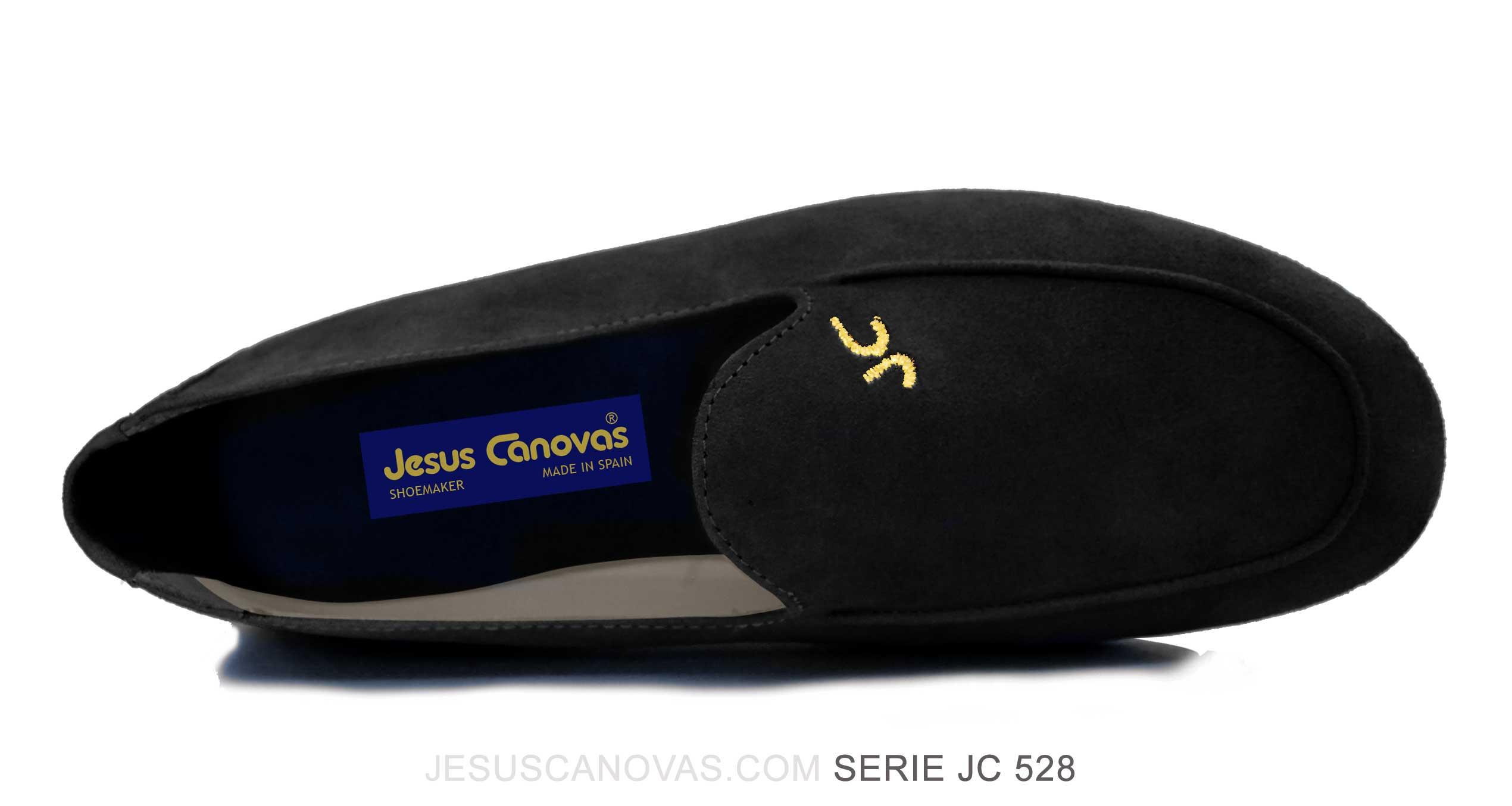 Foto 2 de Zapatos Julio Iglesias Mocasin Negro Ante