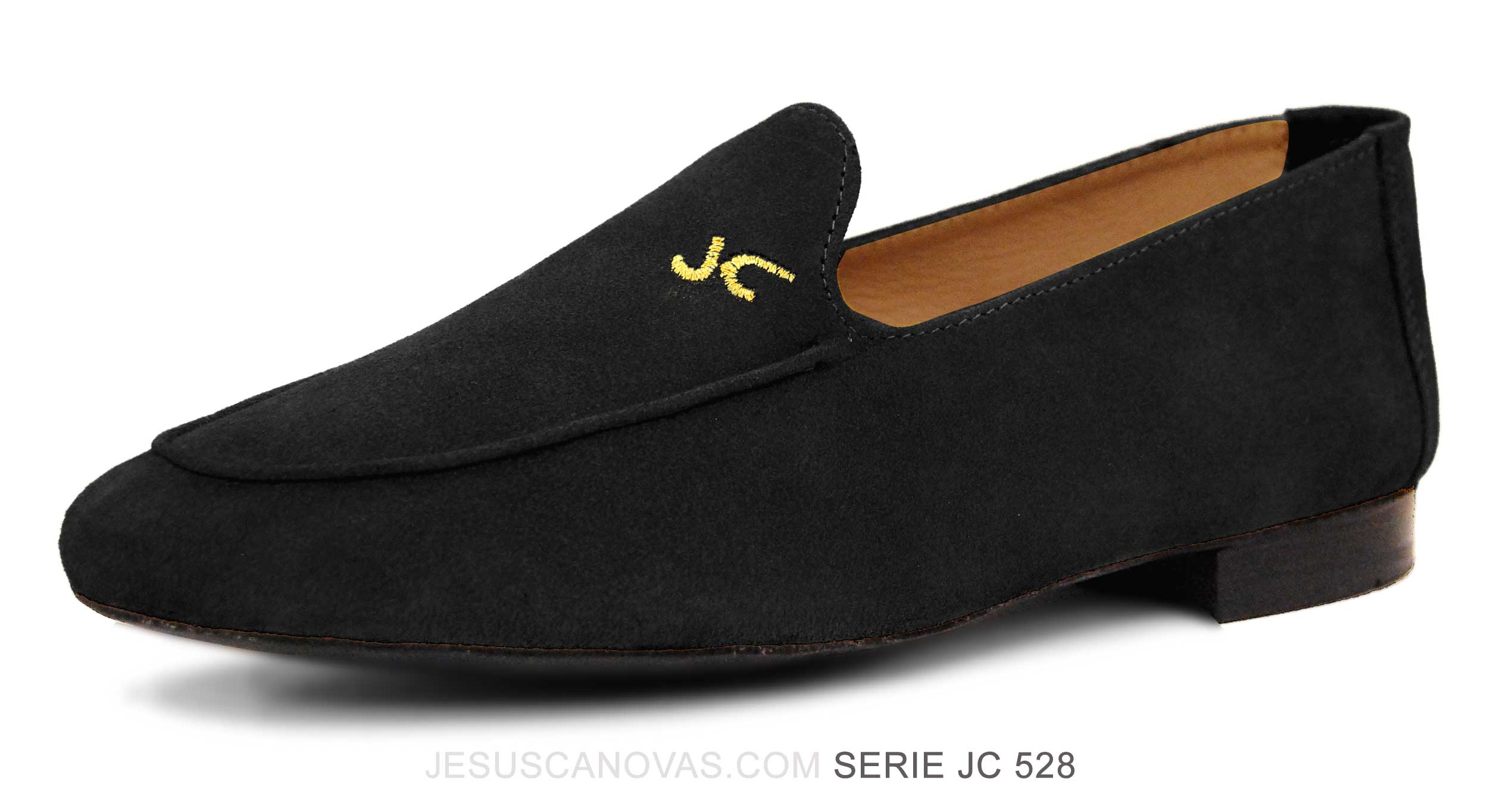 Foto 5 de Zapatos Julio Iglesias Mocasin Negro Ante