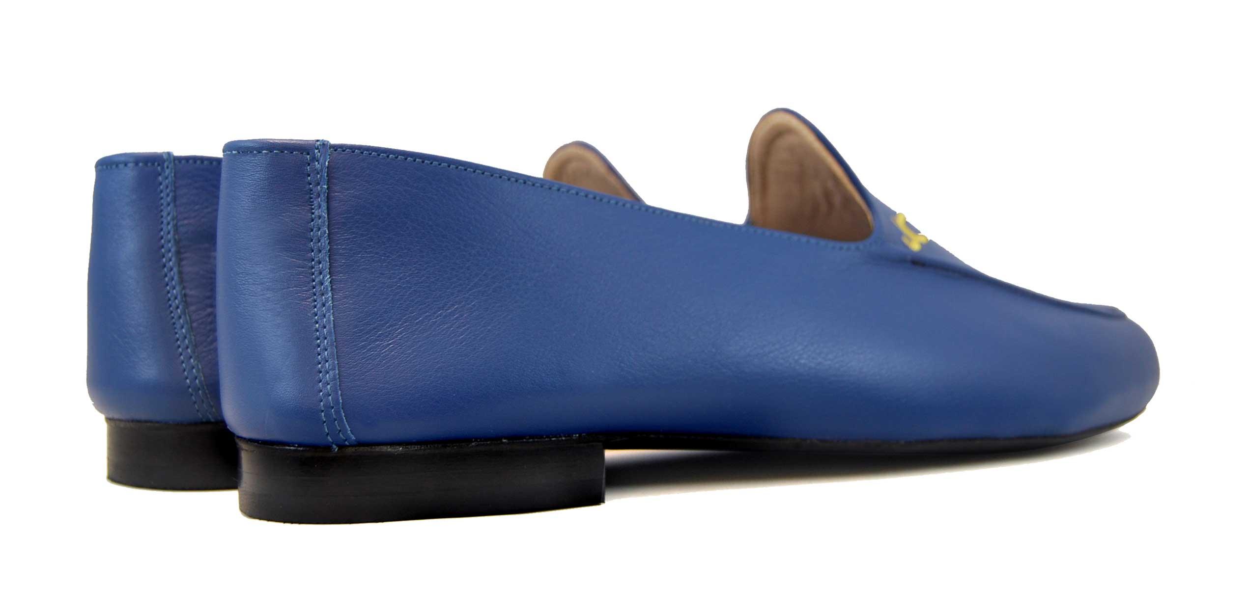 Foto 4 de Zapatos Julio Iglesias 528 JC Azulon Napa