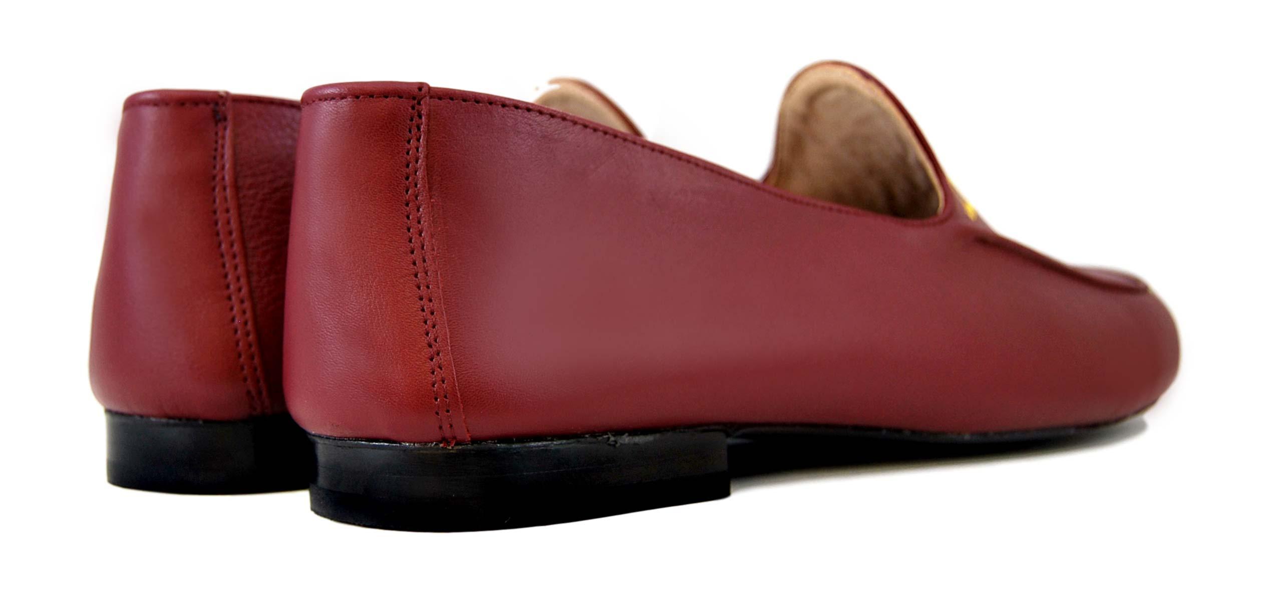 Foto 4 de Zapatos Julio Iglesias Mocasin 528 JC Burdeos Napa