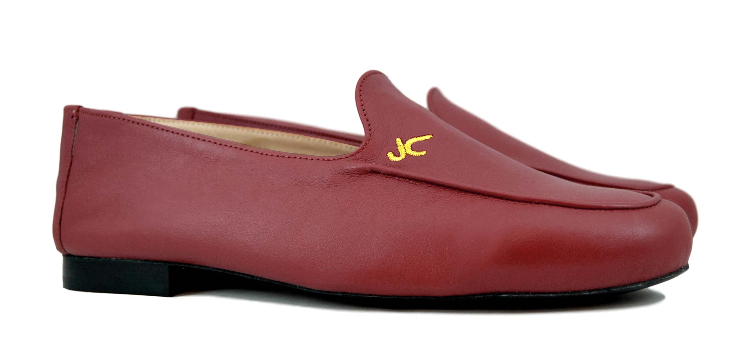 Foto 5 de Zapatos Julio Iglesias Mocasin 528 JC Burdeos Napa
