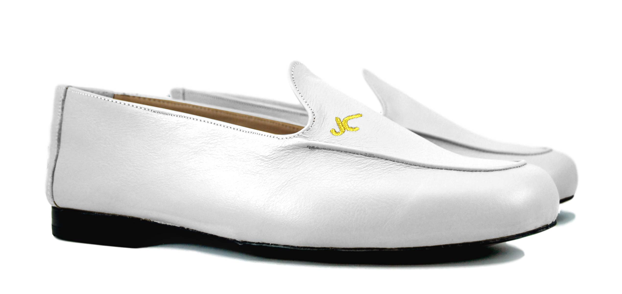 Foto 5 de Zapatos Julio Iglesias Mocasin 528 JC Blanco Napa
