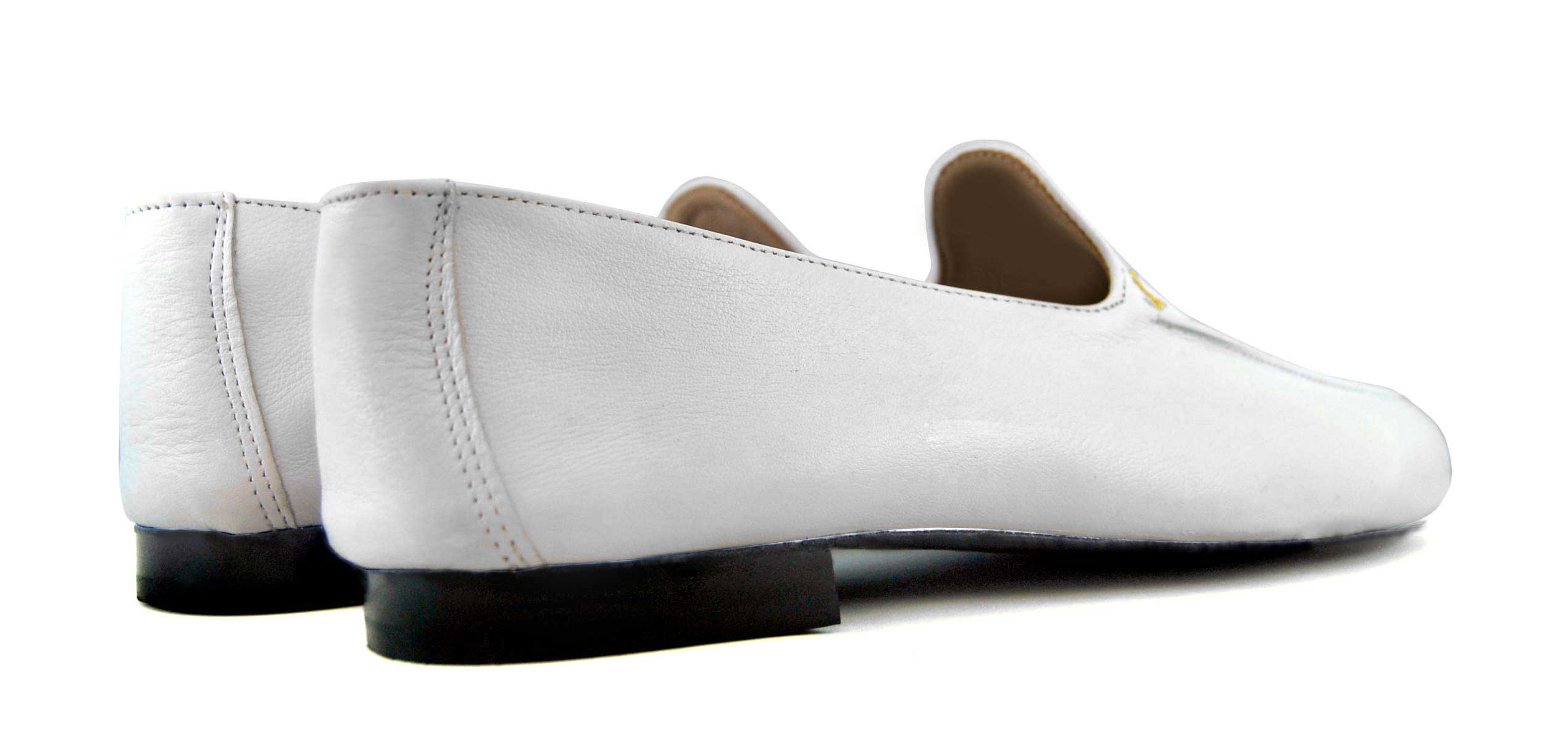 Foto 4 de Zapatos Julio Iglesias Mocasin 528 JC Blanco Napa