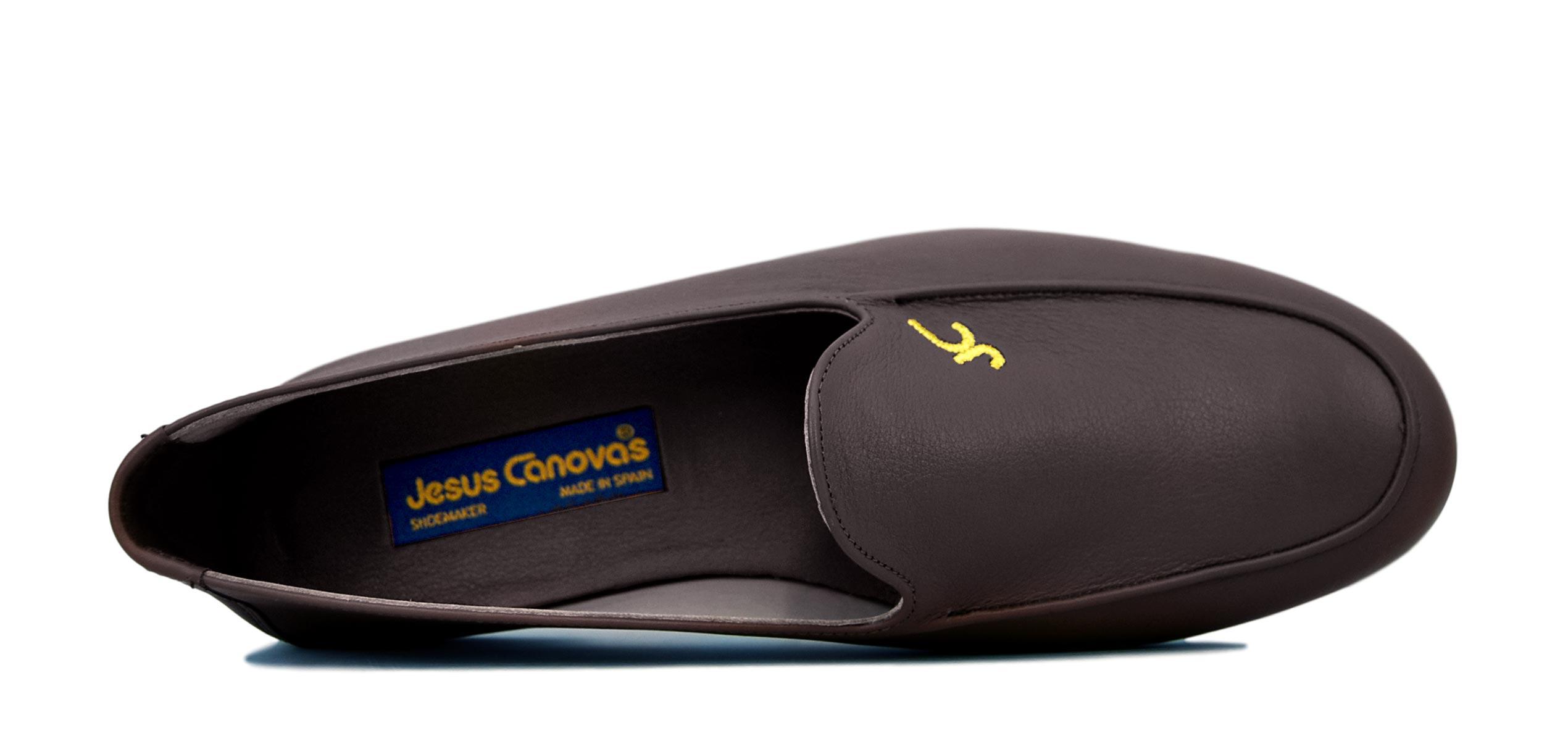 Foto 2 de Zapatos Julio Iglesias Mocasin 528 JC Marrón Napa