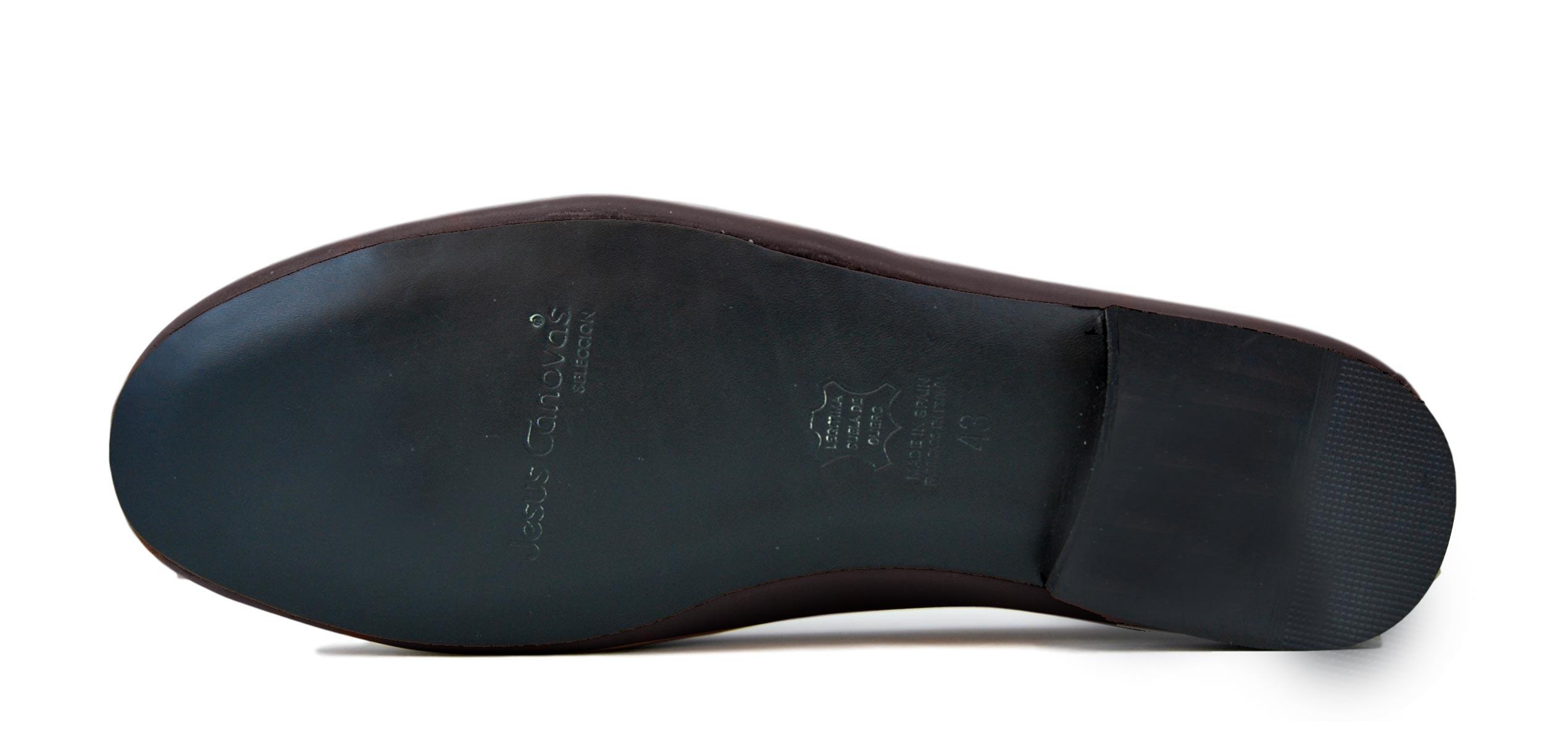 Foto 3 de Zapatos Julio Iglesias Mocasin 528 JC Marrón Napa