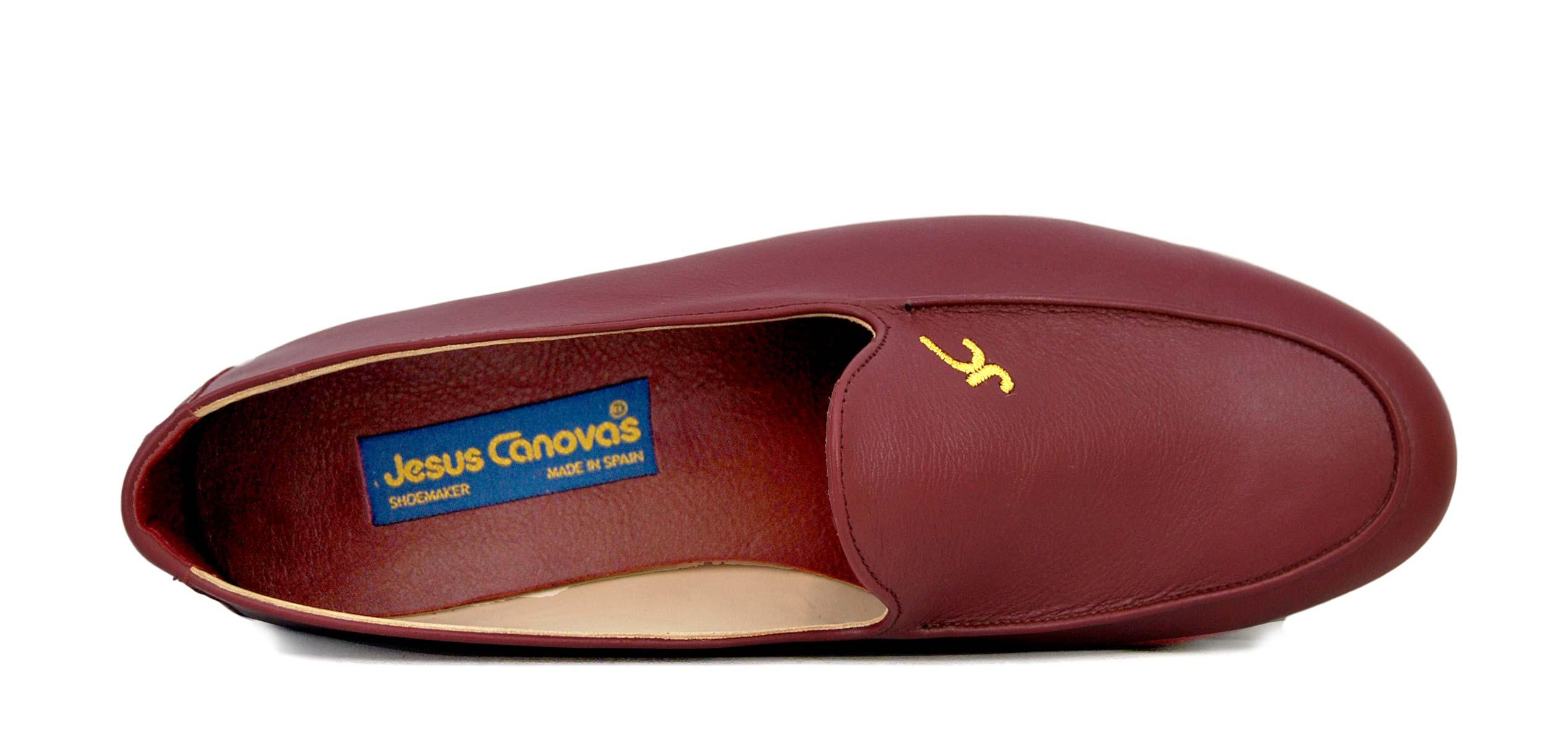 Foto 2 de Zapatos Julio Iglesias Mocasin 528 JC Burdeos Napa