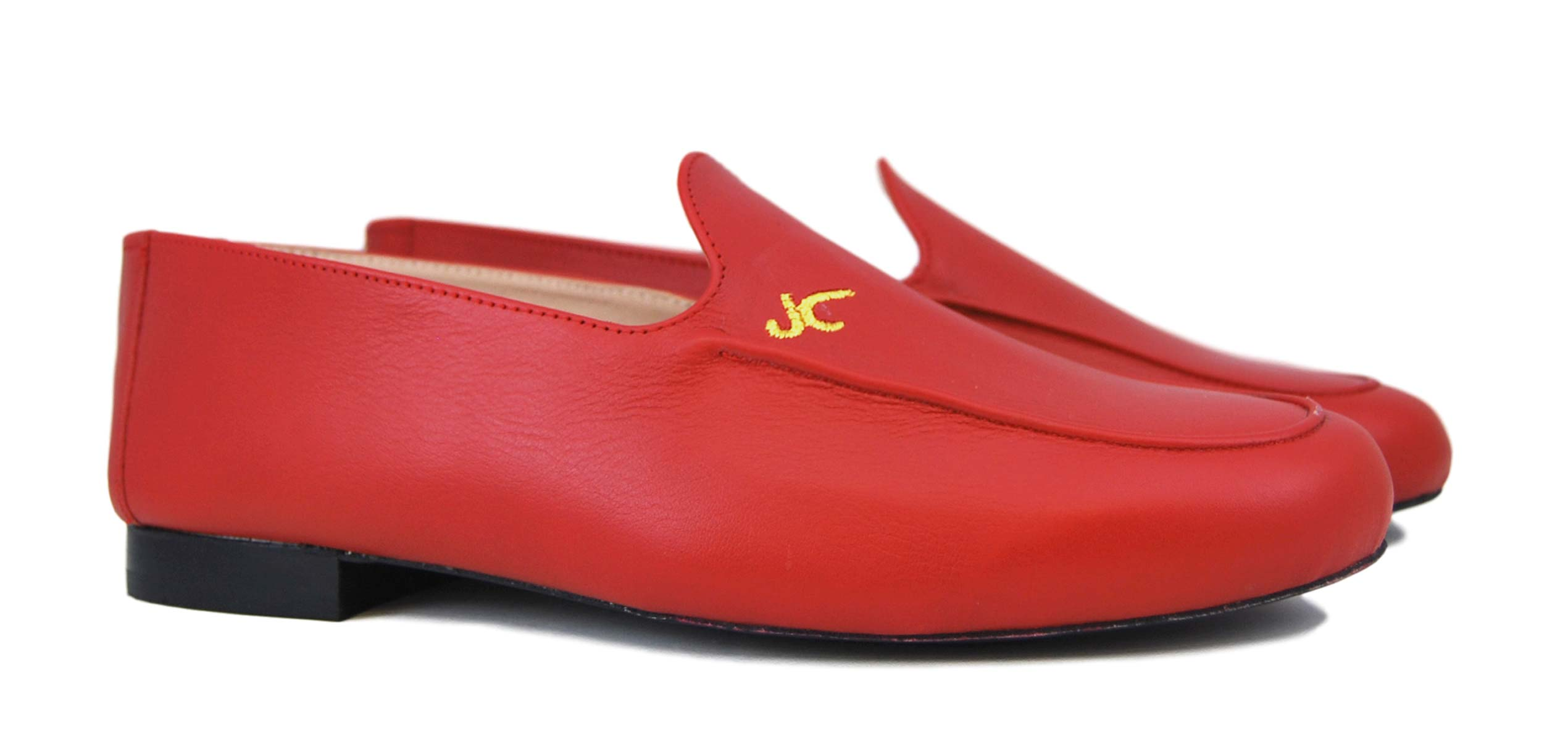 Foto 5 de Zapatos Julio Iglesias Mocasin 528 JC Rojo Napa