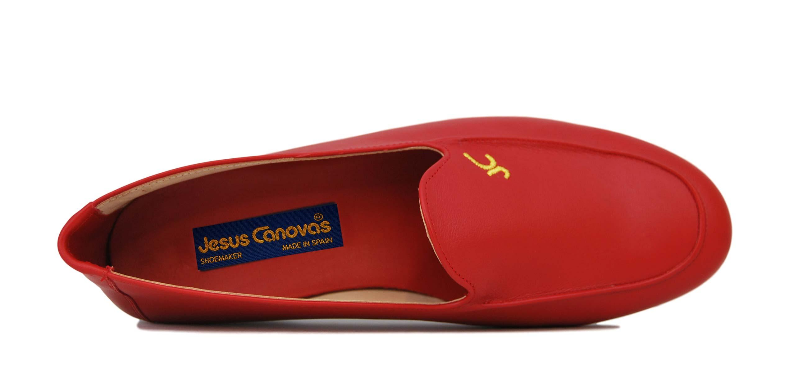 Foto 2 de Zapatos Julio Iglesias Mocasin 528 JC Rojo Napa