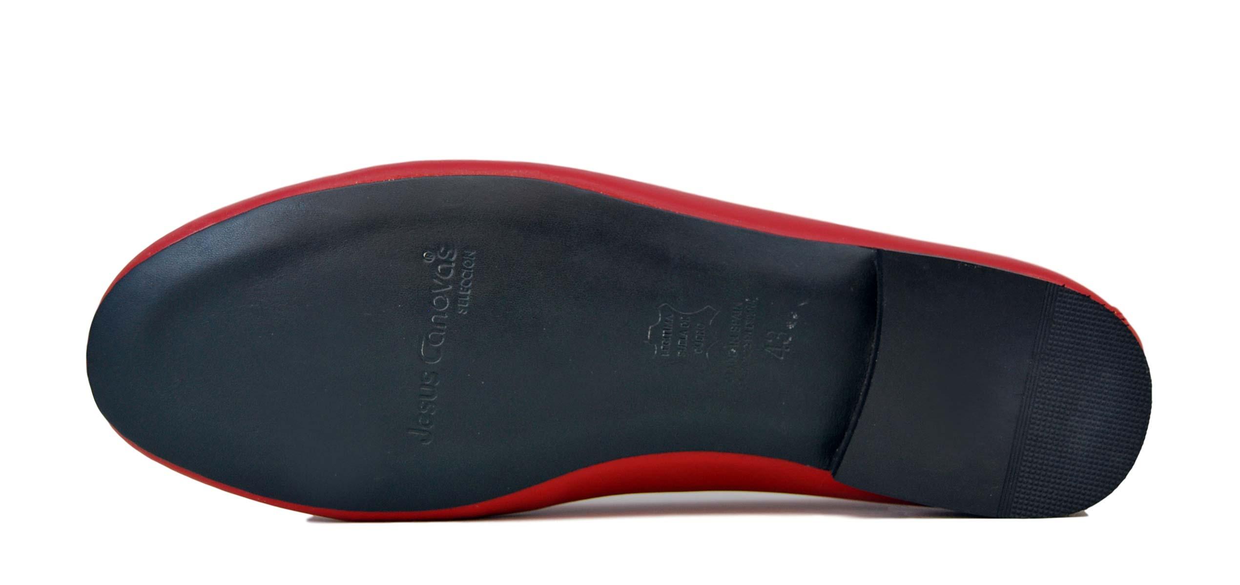 Foto 3 de Zapatos Julio Iglesias Mocasin 528 JC Rojo Napa