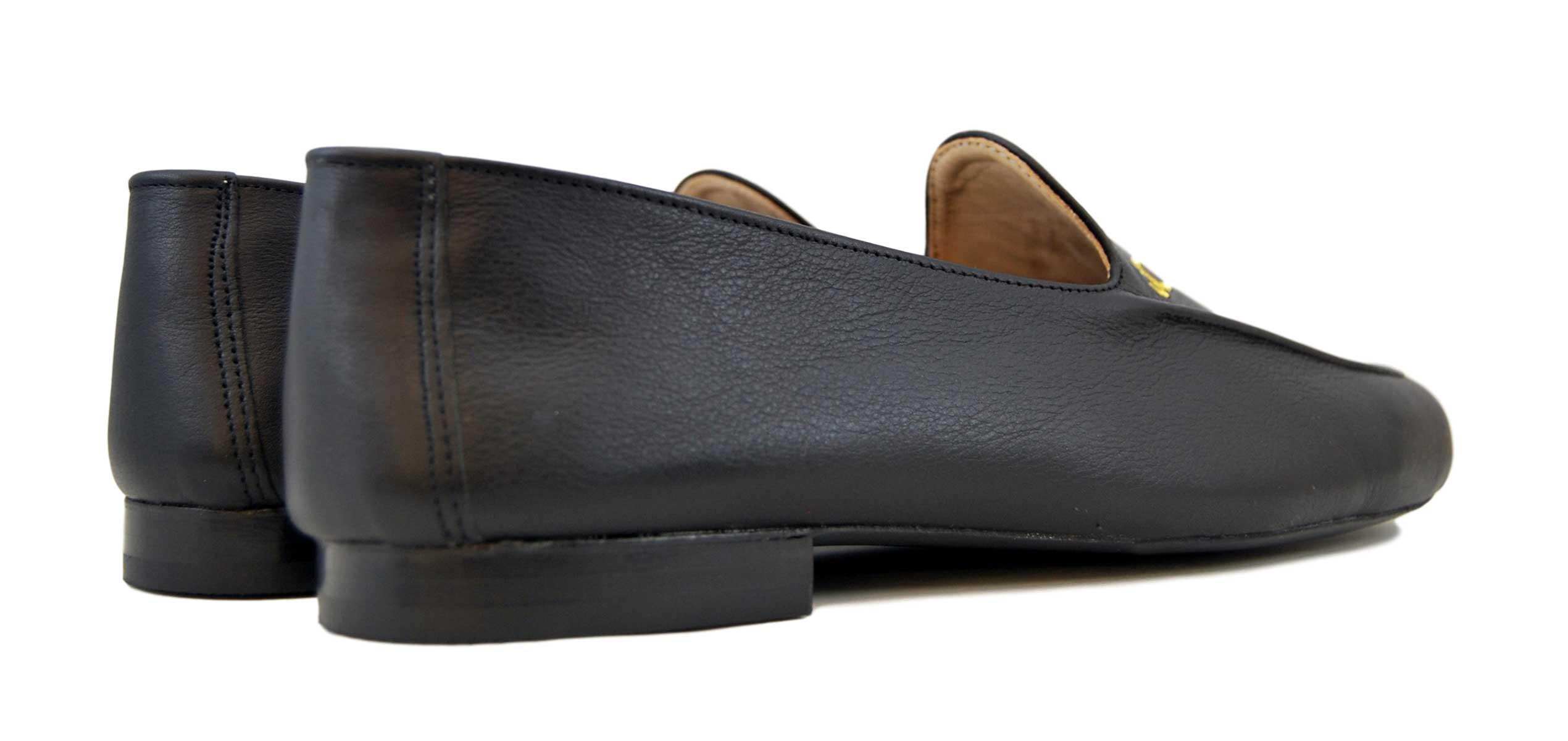 Foto 4 de Zapatos Julio Iglesias Mocasin 528 JC Negro Napa