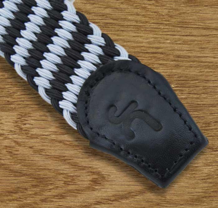 Foto 2 de Cinturon Trenzado Elastico Marino-Cielo