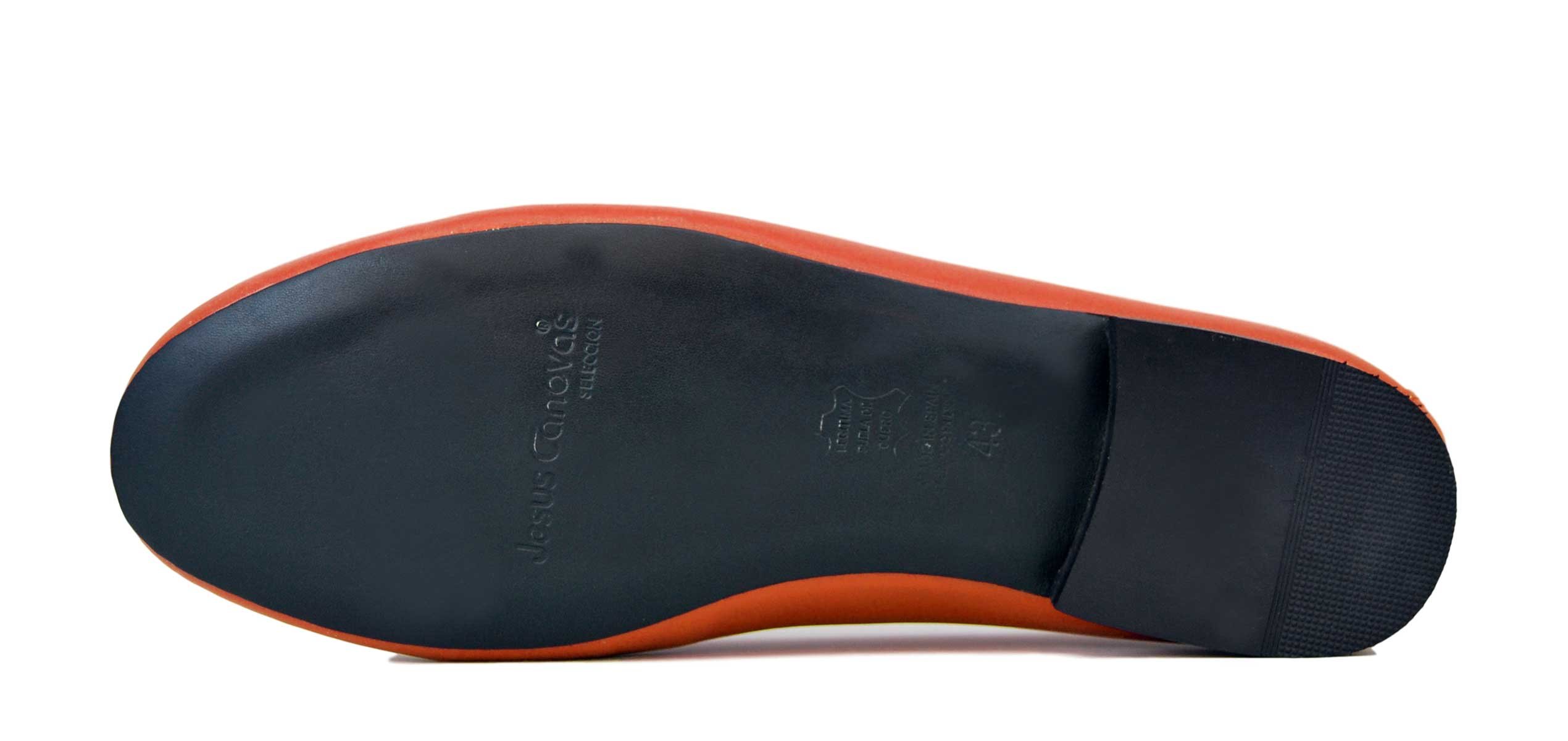 Foto 3 de Zapatos Julio Iglesias Mocasin 528 JC Naranja Napa