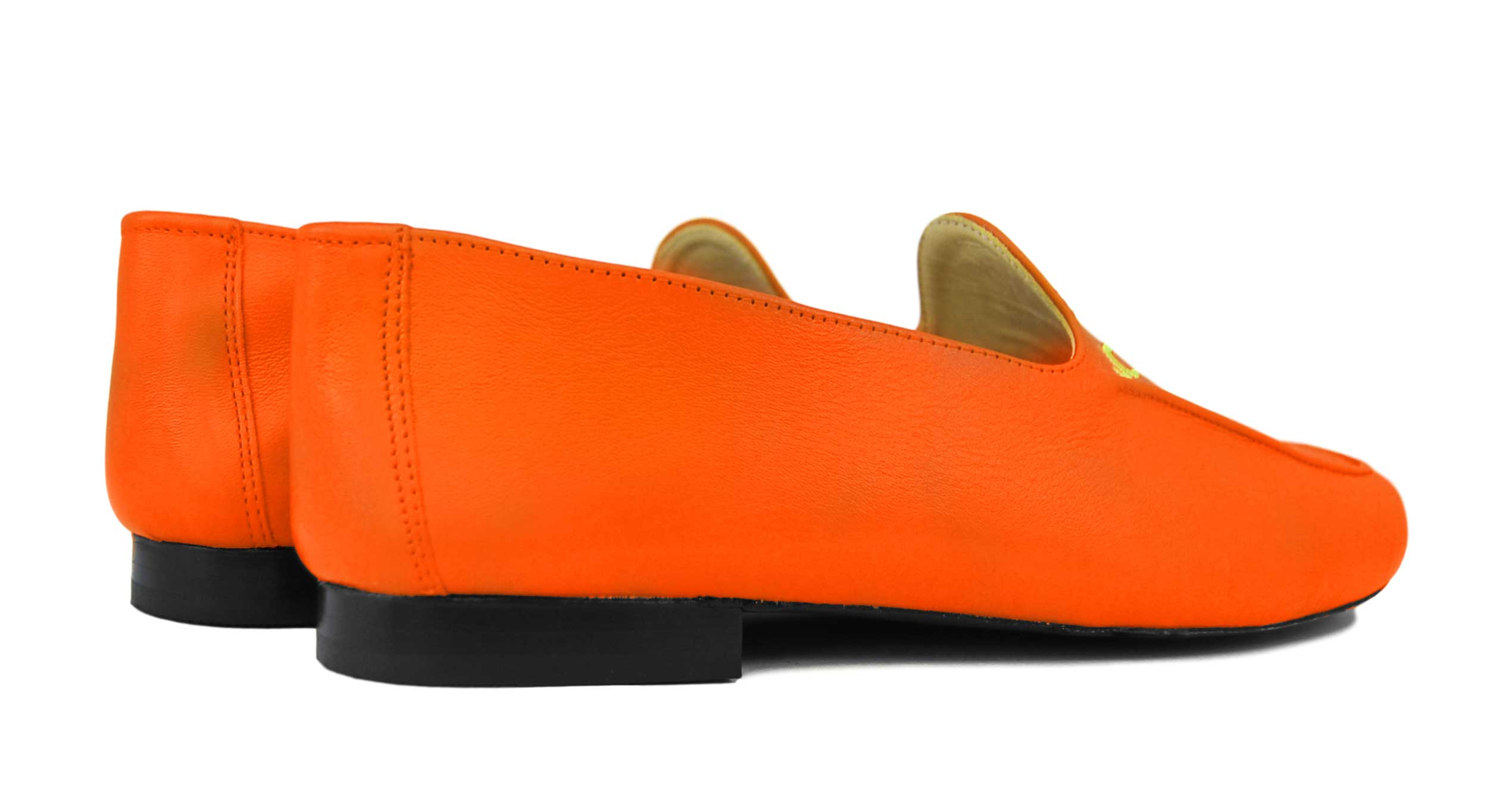 Foto 4 de Zapatos Julio Iglesias Mocasin 528 JC Naranja Napa
