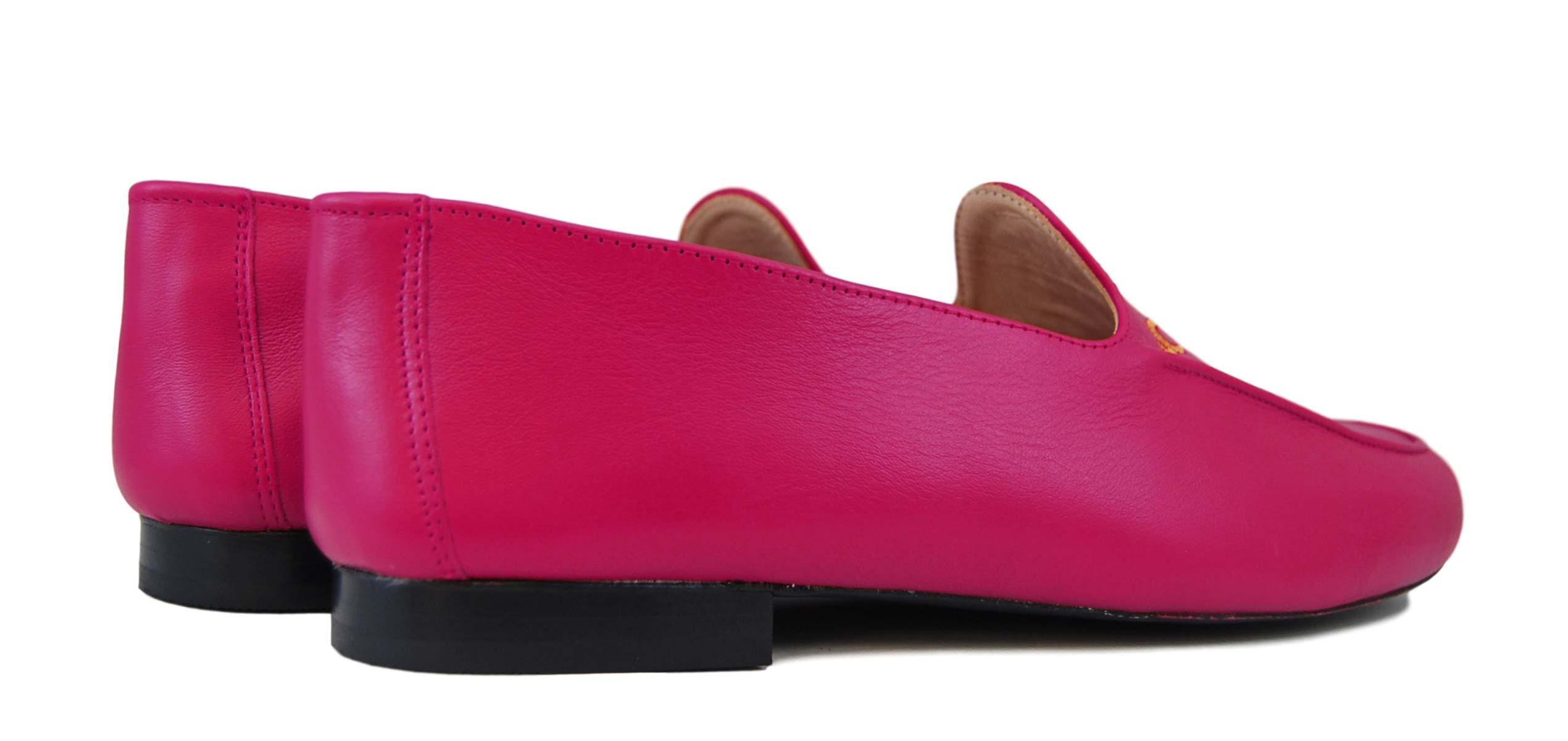 Foto 4 de Zapatos Julio Iglesias 528 JC Magenta Napa