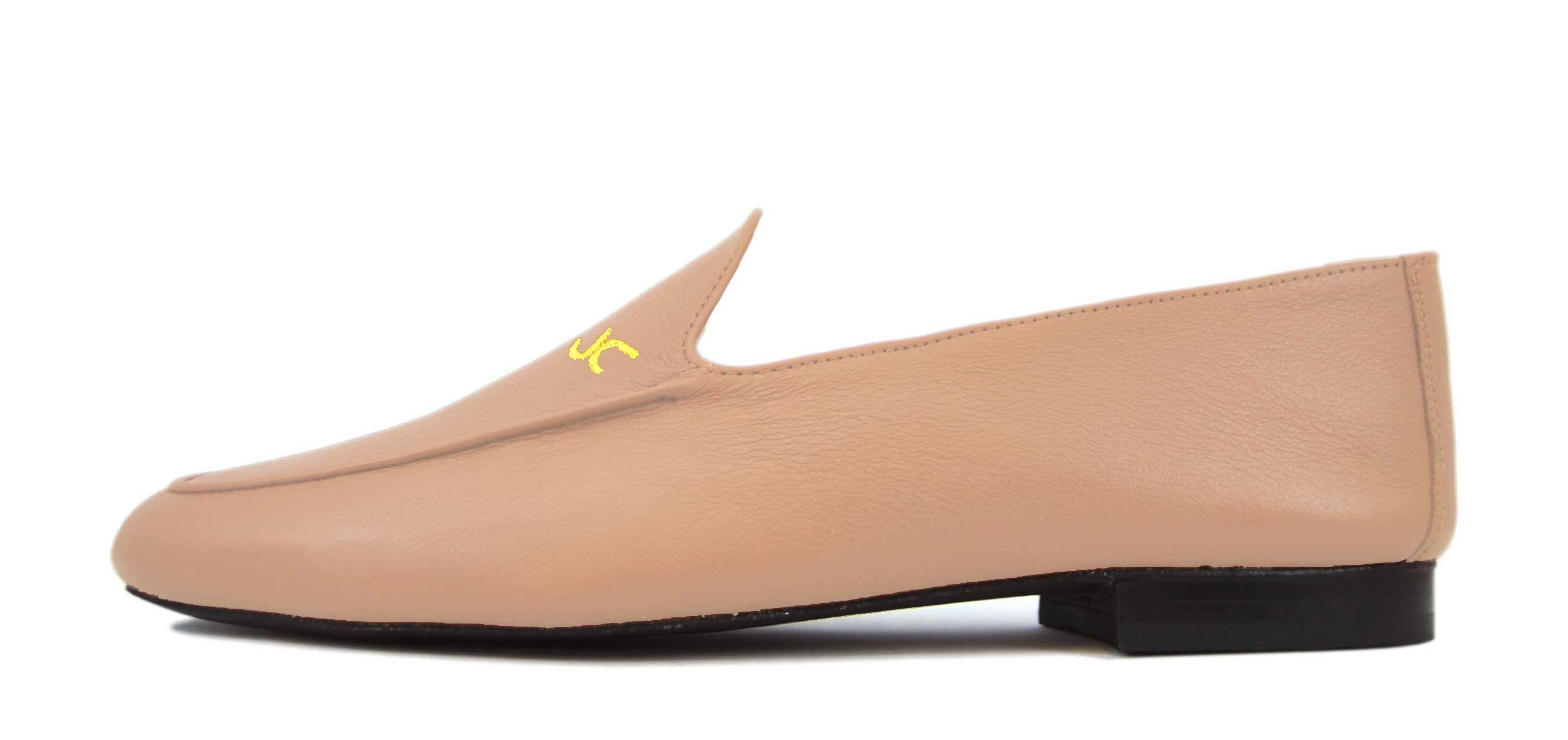 Foto 1 de Zapatos Julio Iglesias 528 JC Pink Napa Piel Original