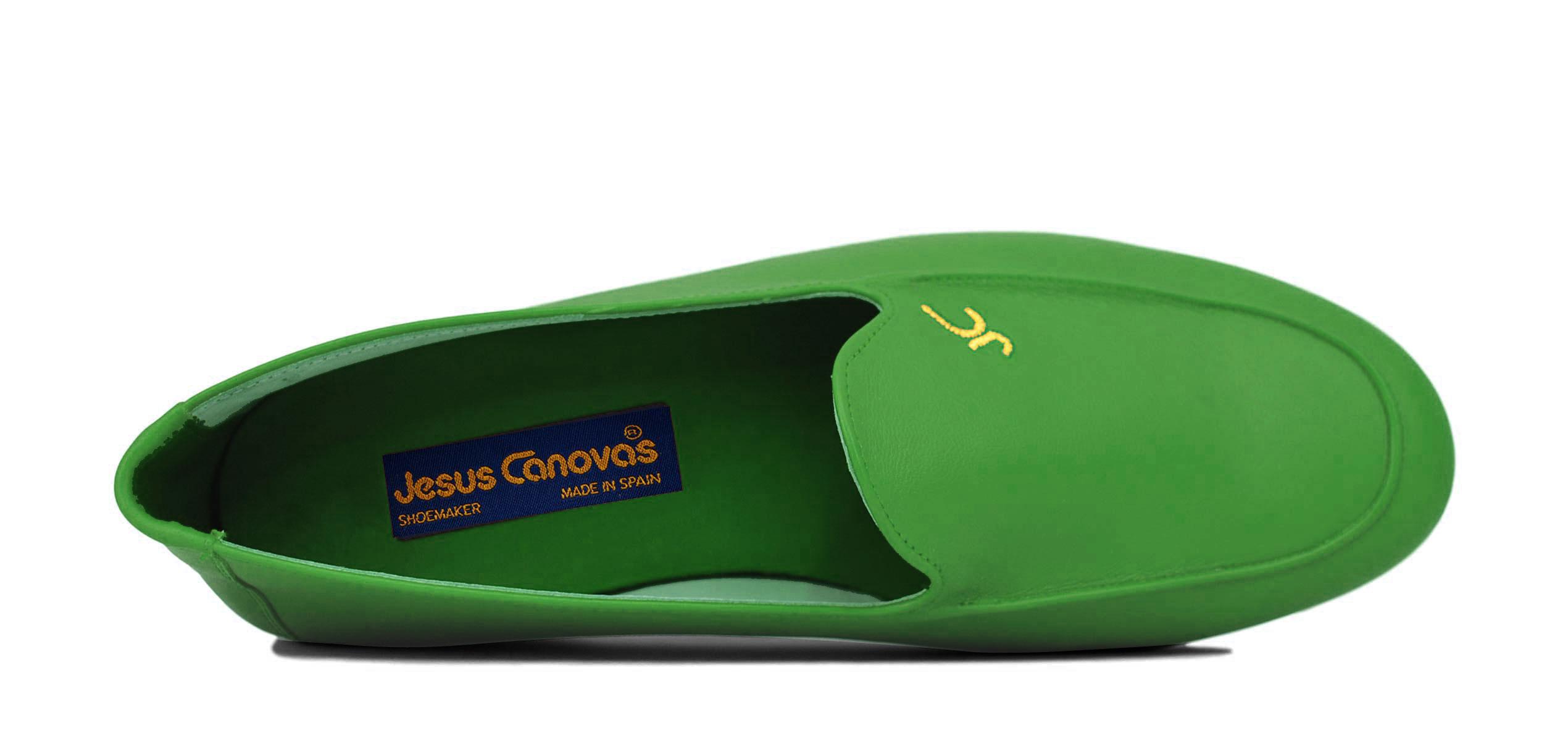 Foto 2 de Zapatos Julio Iglesias 528 JC Hierba Piel Napa