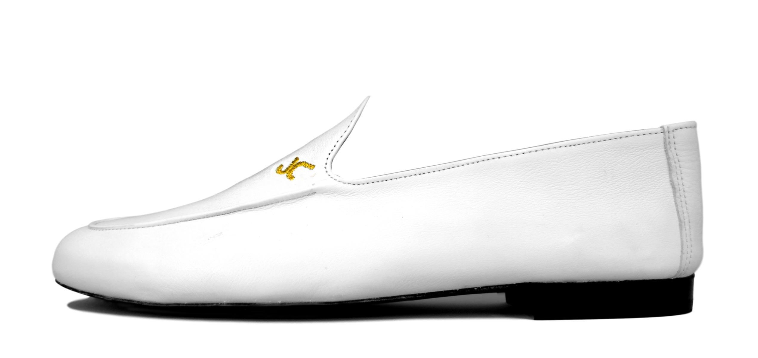 Foto 1 de Zapatos Julio Iglesias Mocasin 528 JC Blanco Napa