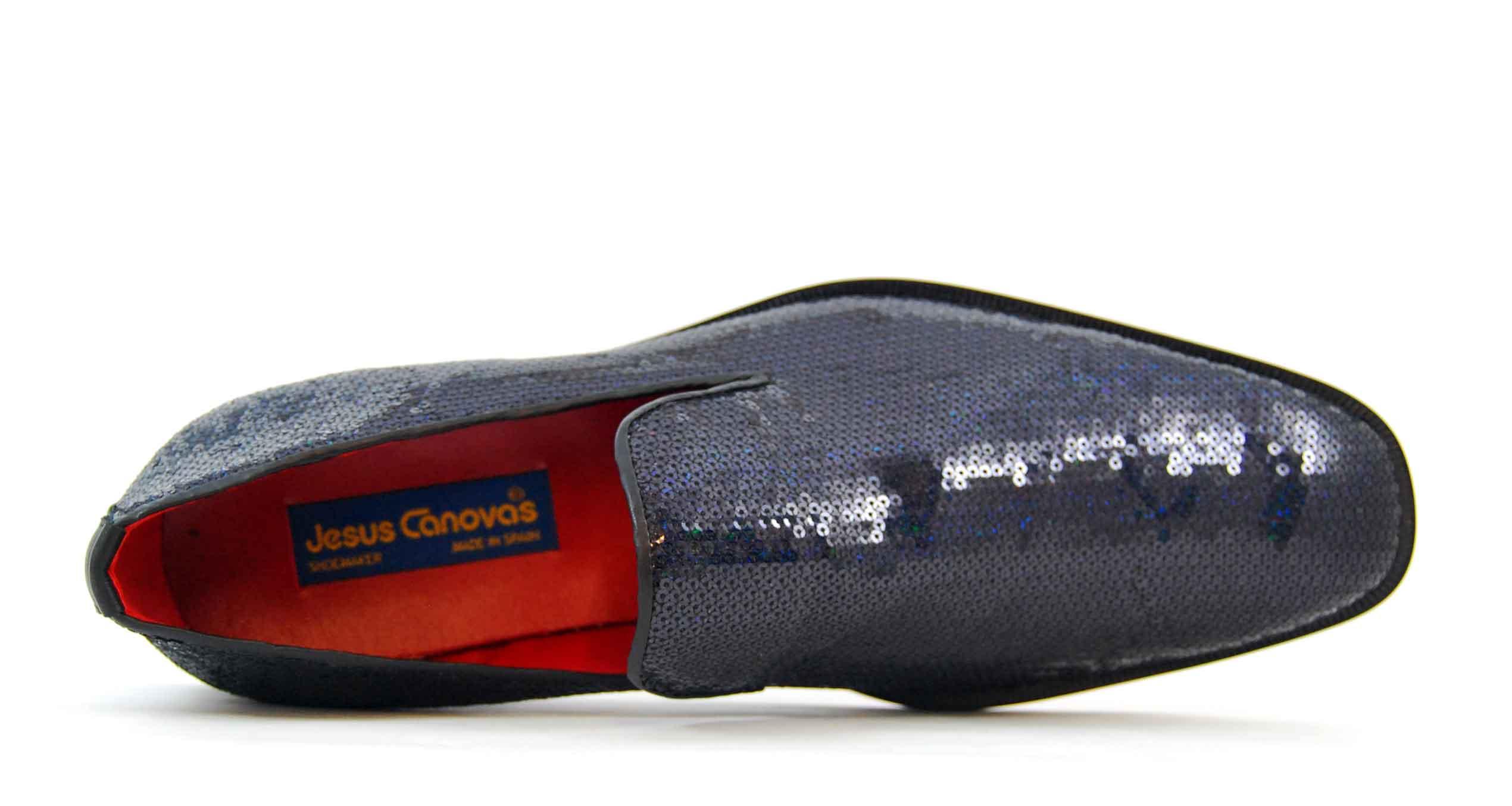 Foto 2 de Zapatos Lentejuelas Marino
