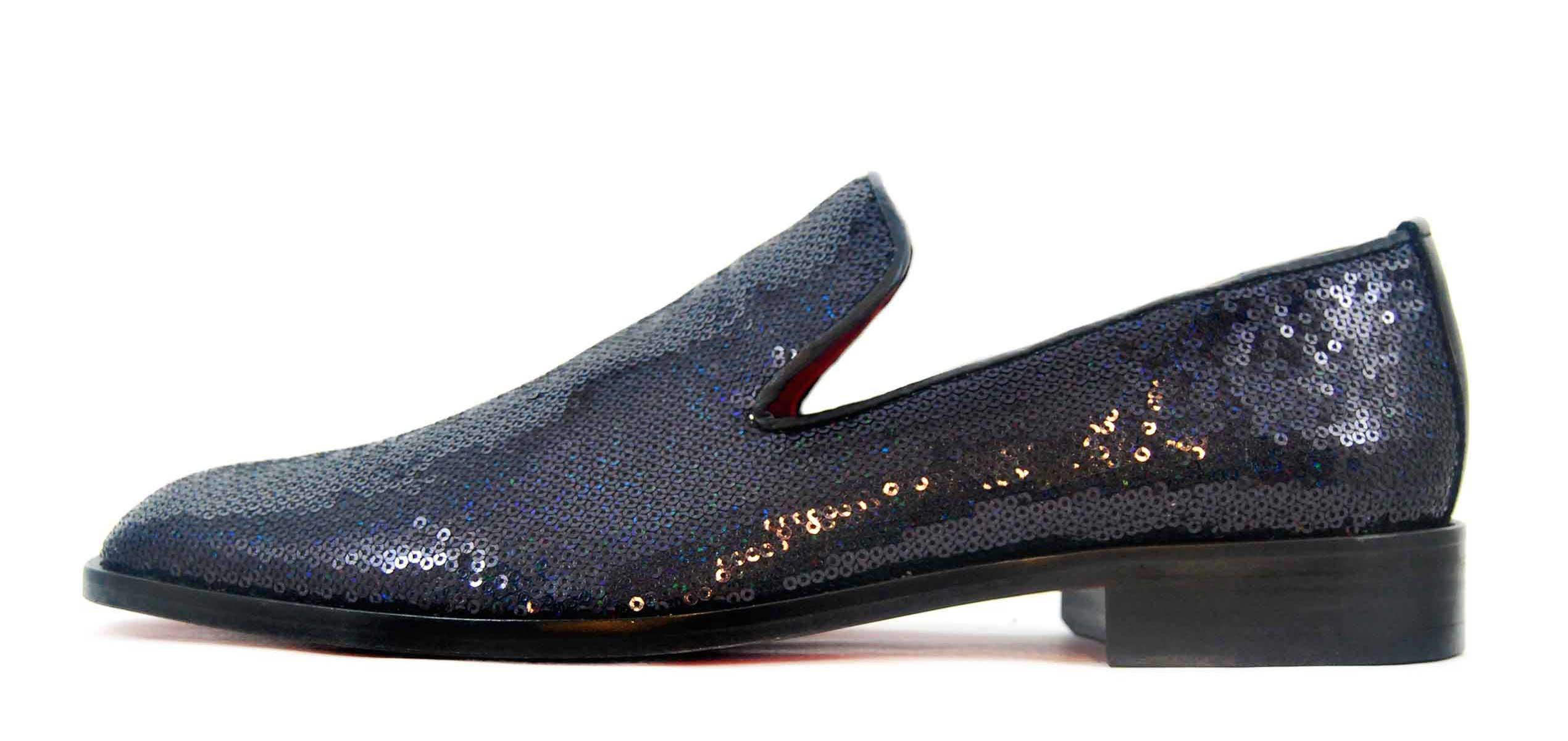 Foto 1 de Zapatos Lentejuelas Marino