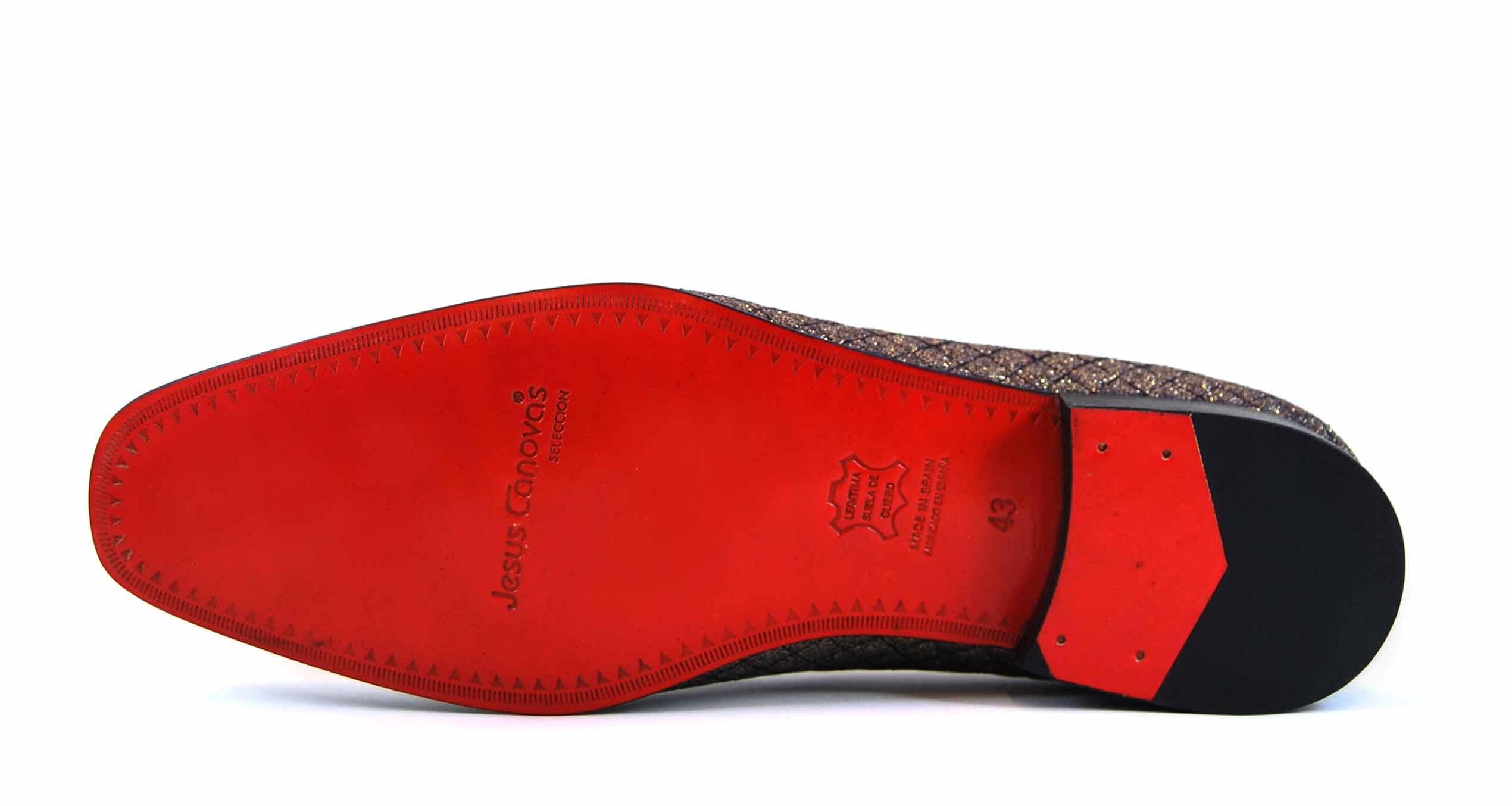 Foto 2 de Zapatos Rejilla Oro
