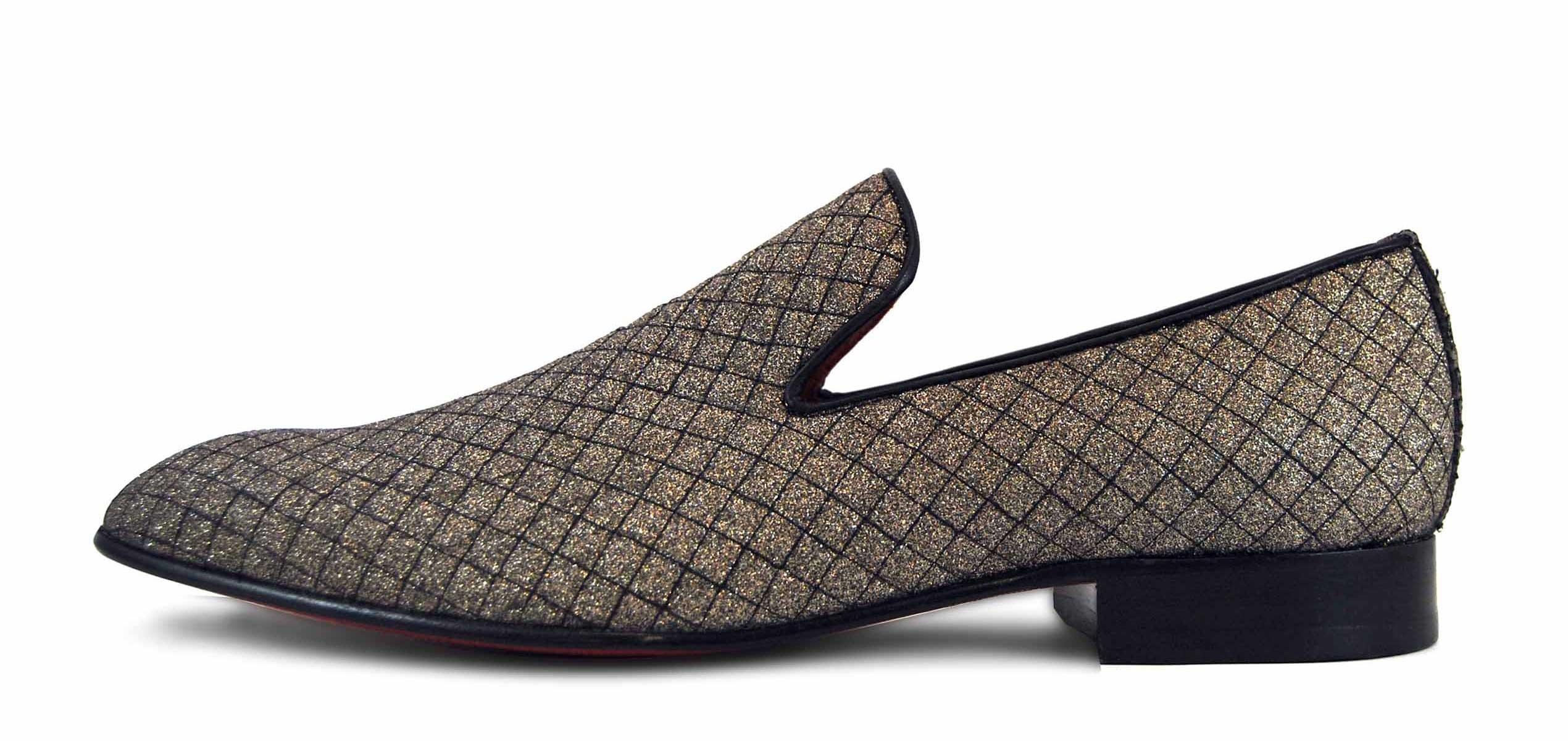 Foto 1 de Zapatos Rejilla Oro
