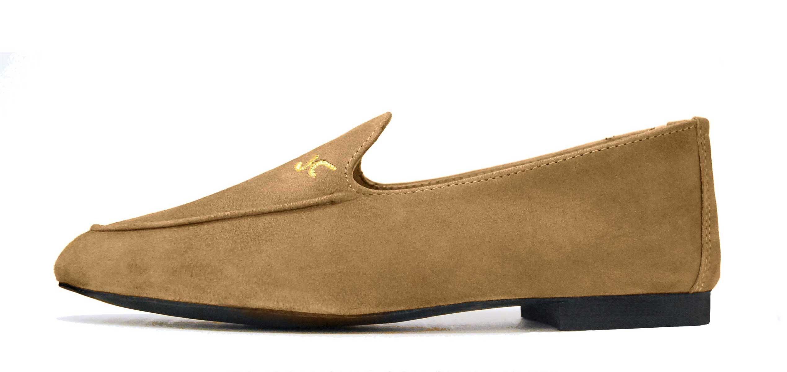 Foto 1 de Zapatos Julio Iglesias Mocasin Taupe ante