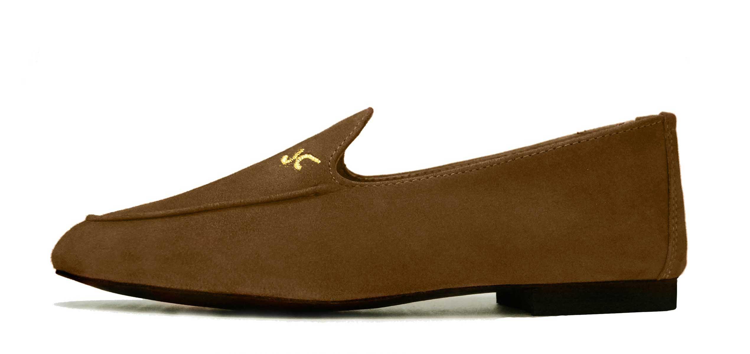 Foto 1 de Zapatos Julio Iglesias Mocasin Moka ante