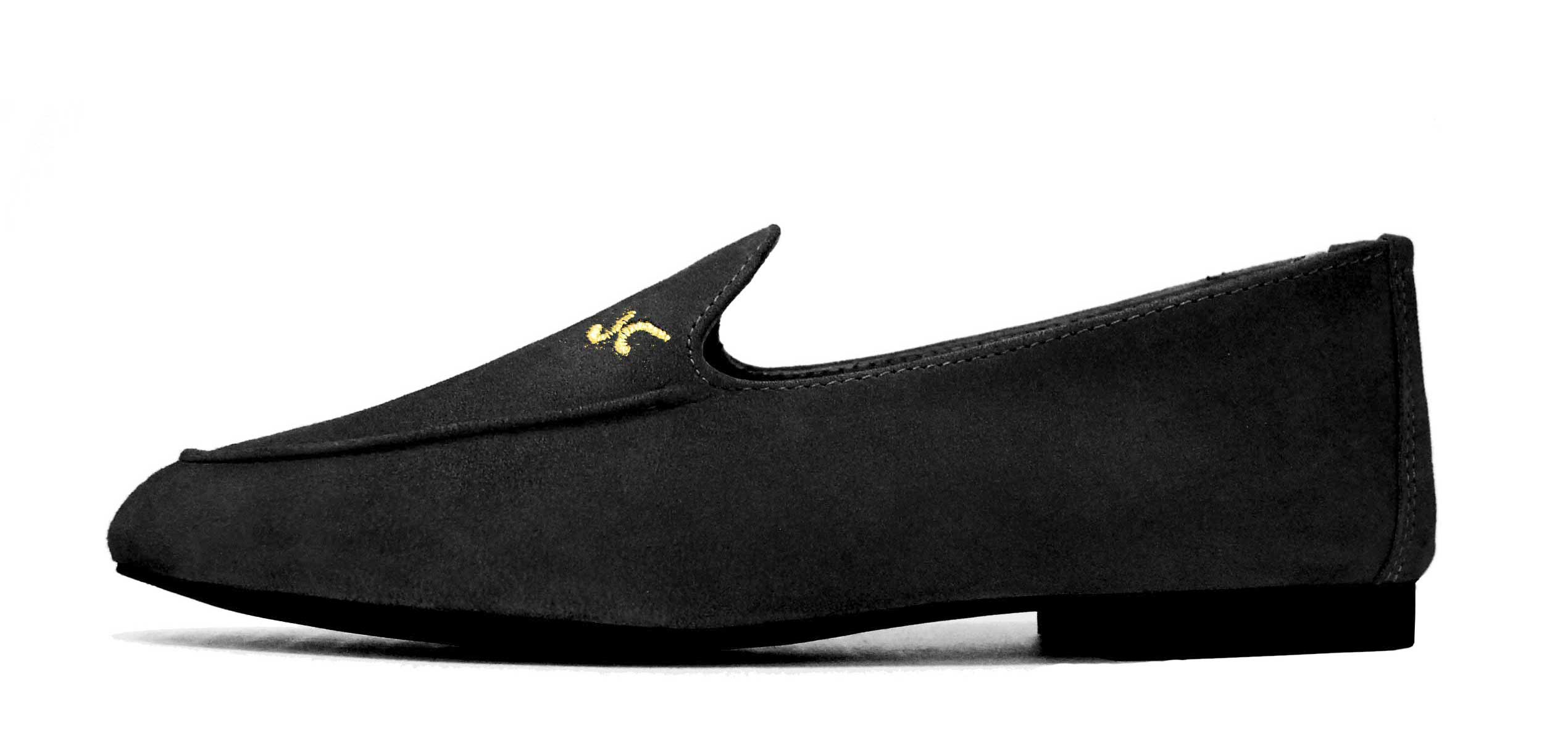Foto 1 de Zapatos Julio Iglesias Mocasin Negro Ante