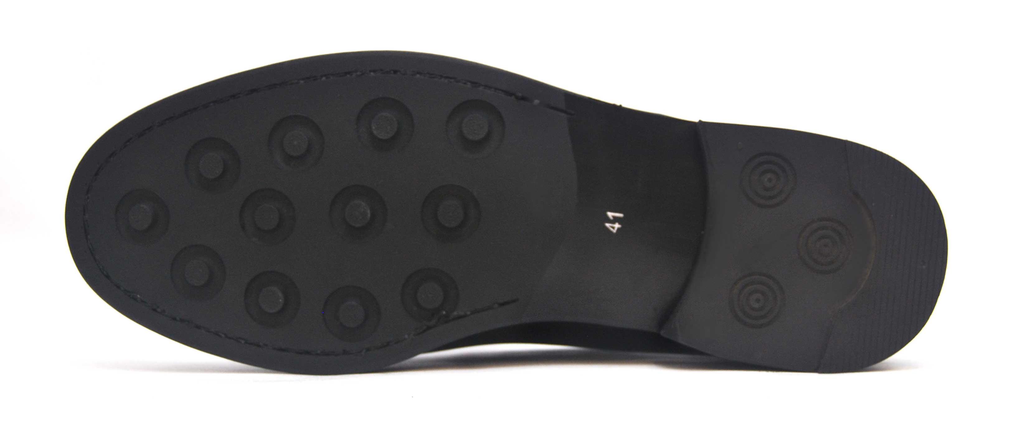 Foto 3 de Zapato Castellano 102 Liso Negro Botones