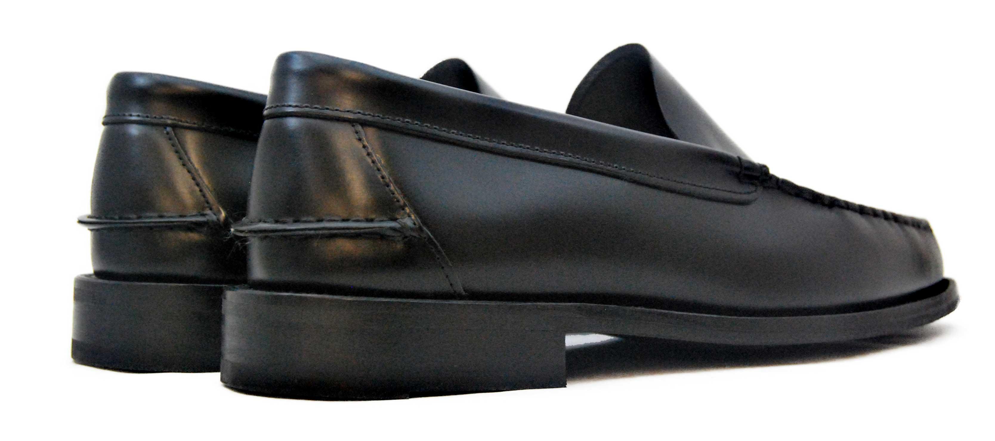 Foto 4 de Zapato Castellano 102 Liso Negro Botones