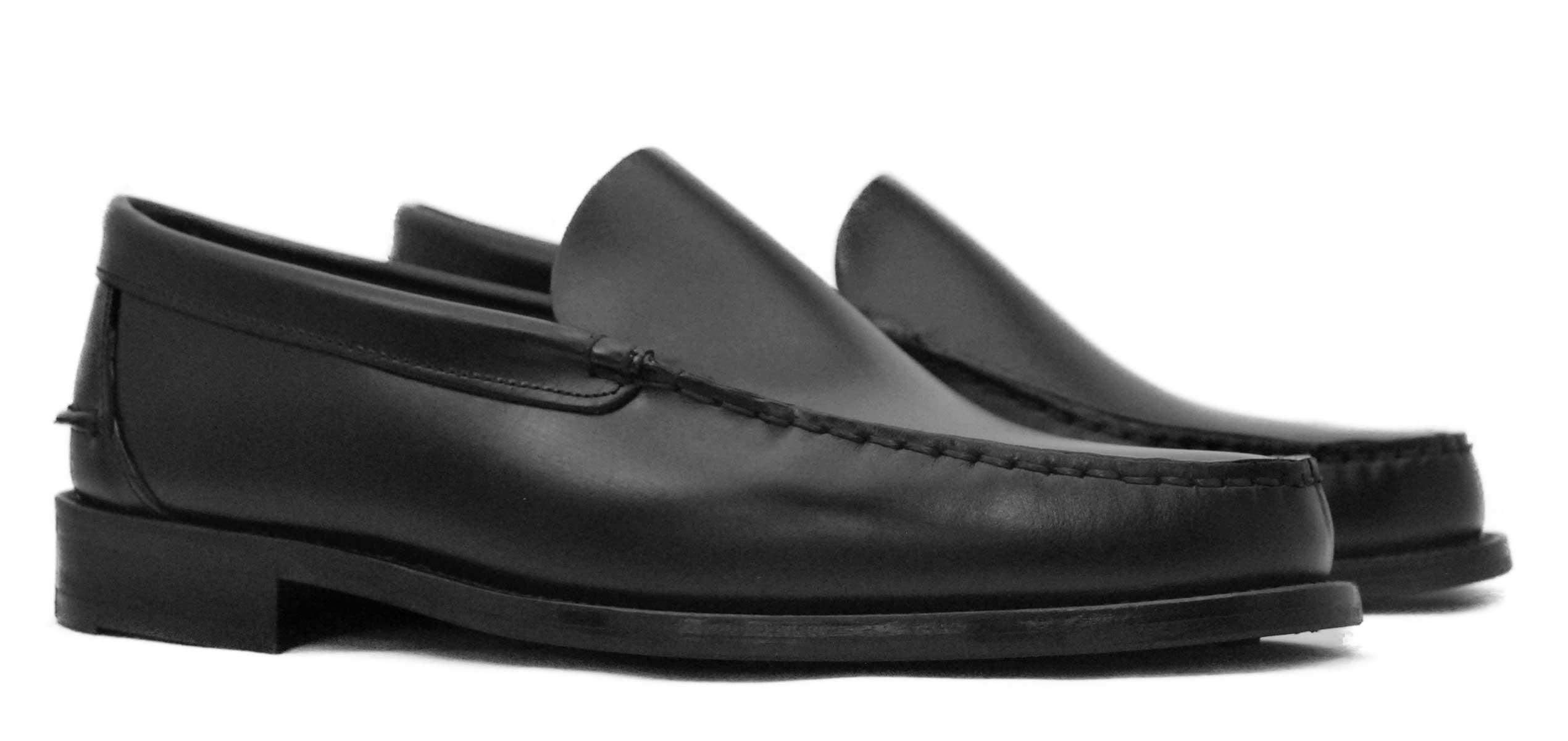 Foto 5 de Zapato Castellano 102 Liso Negro Botones
