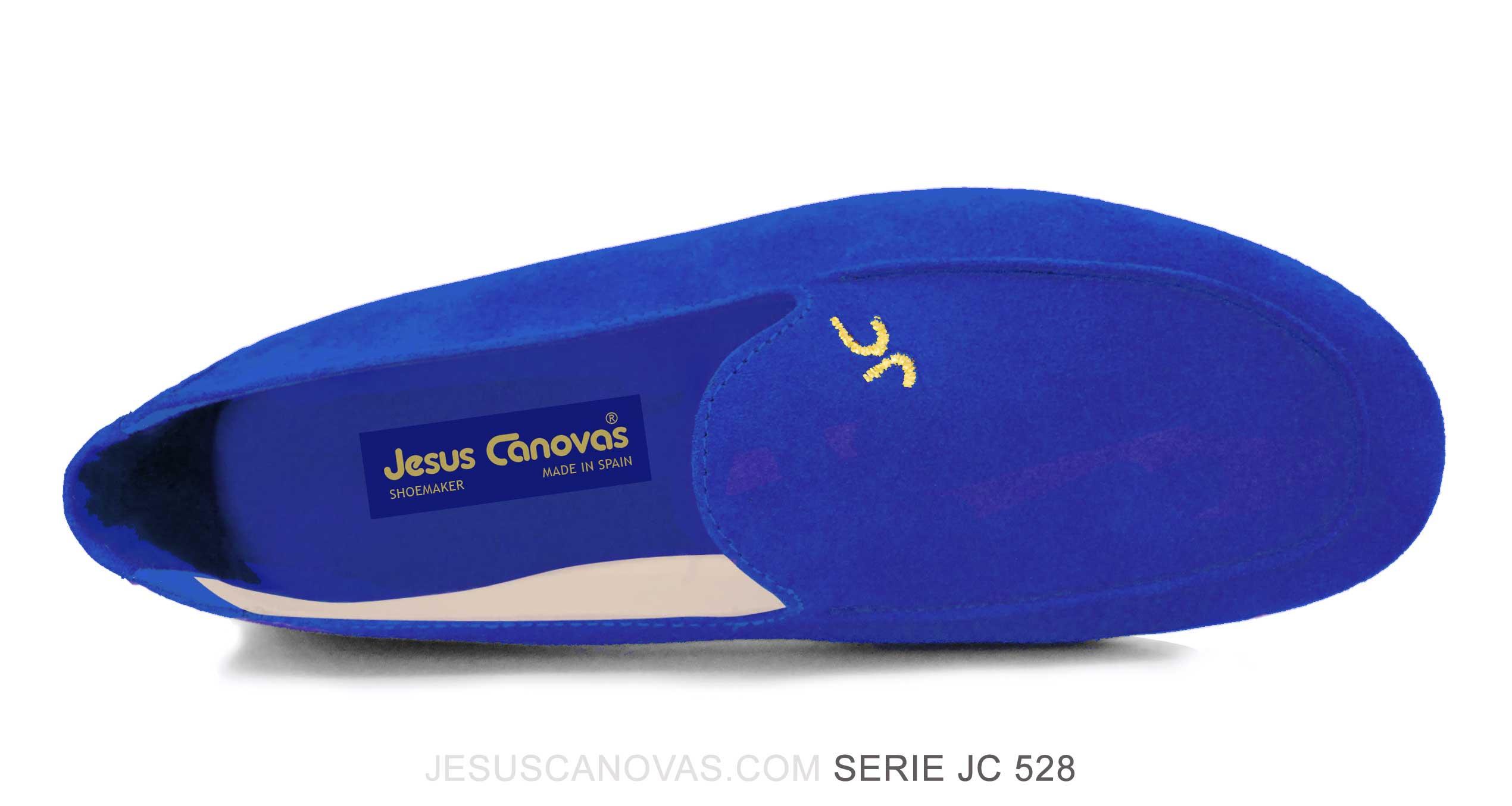 Foto 2 de Zapatos Julio Iglesias Mocasin Azulon Ante