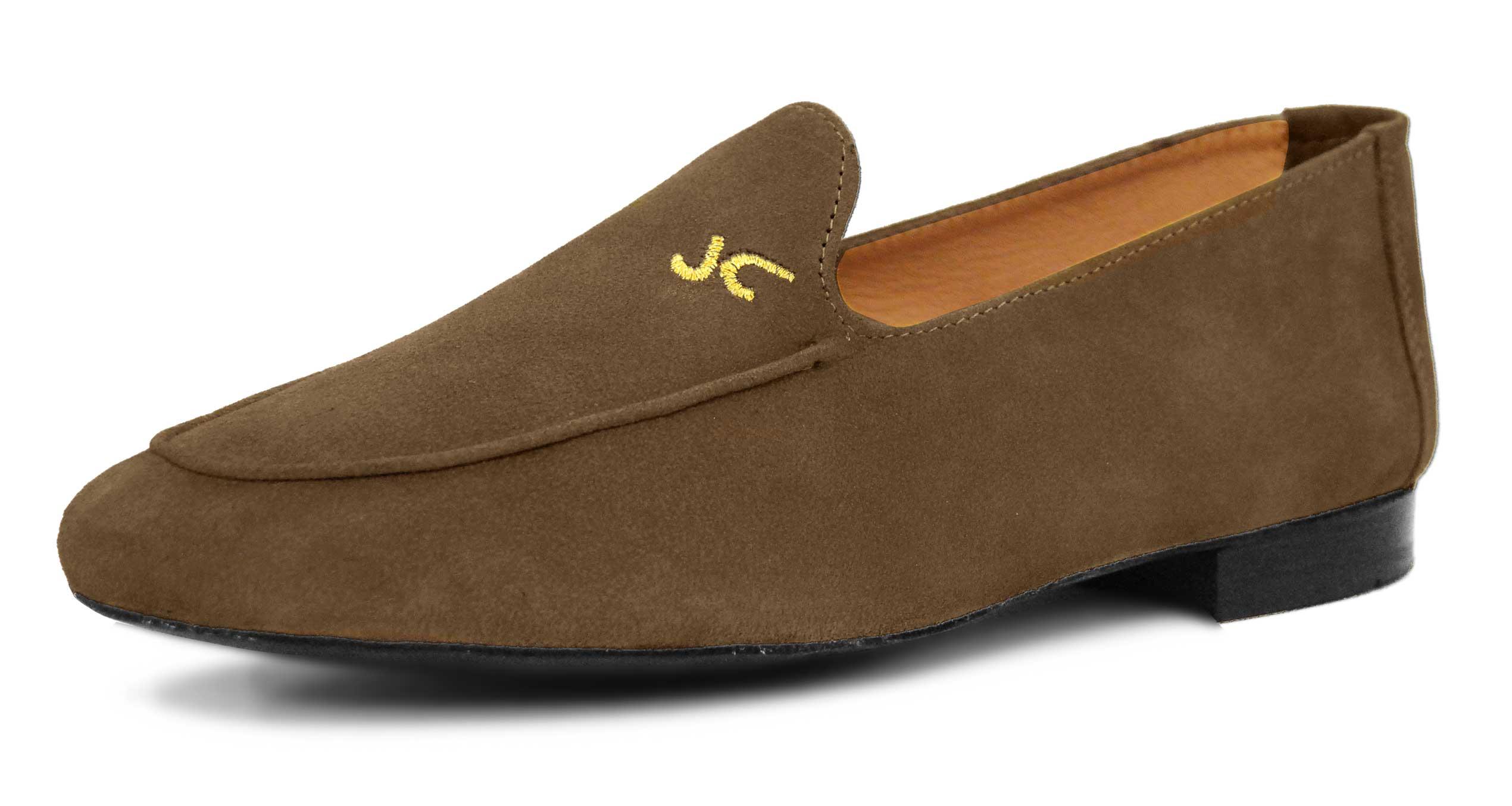 Foto 5 de Zapatos Julio Iglesias Mocasin Taupe Ante