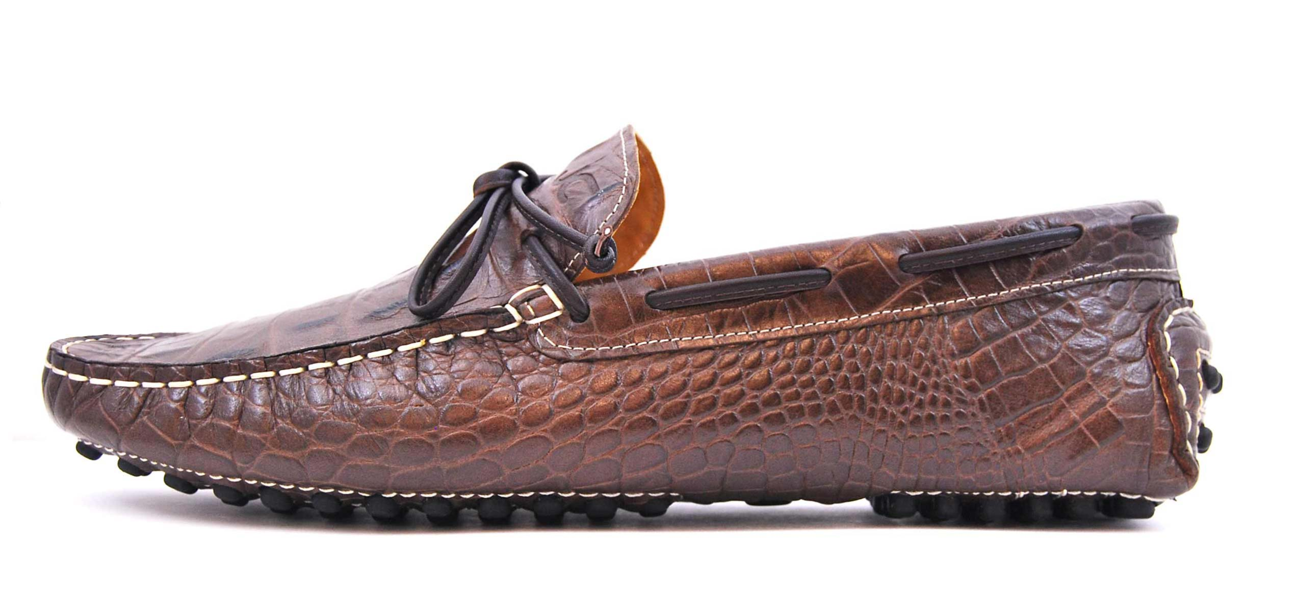 Foto 1 de 3059 Croco Leather Marron-Brown