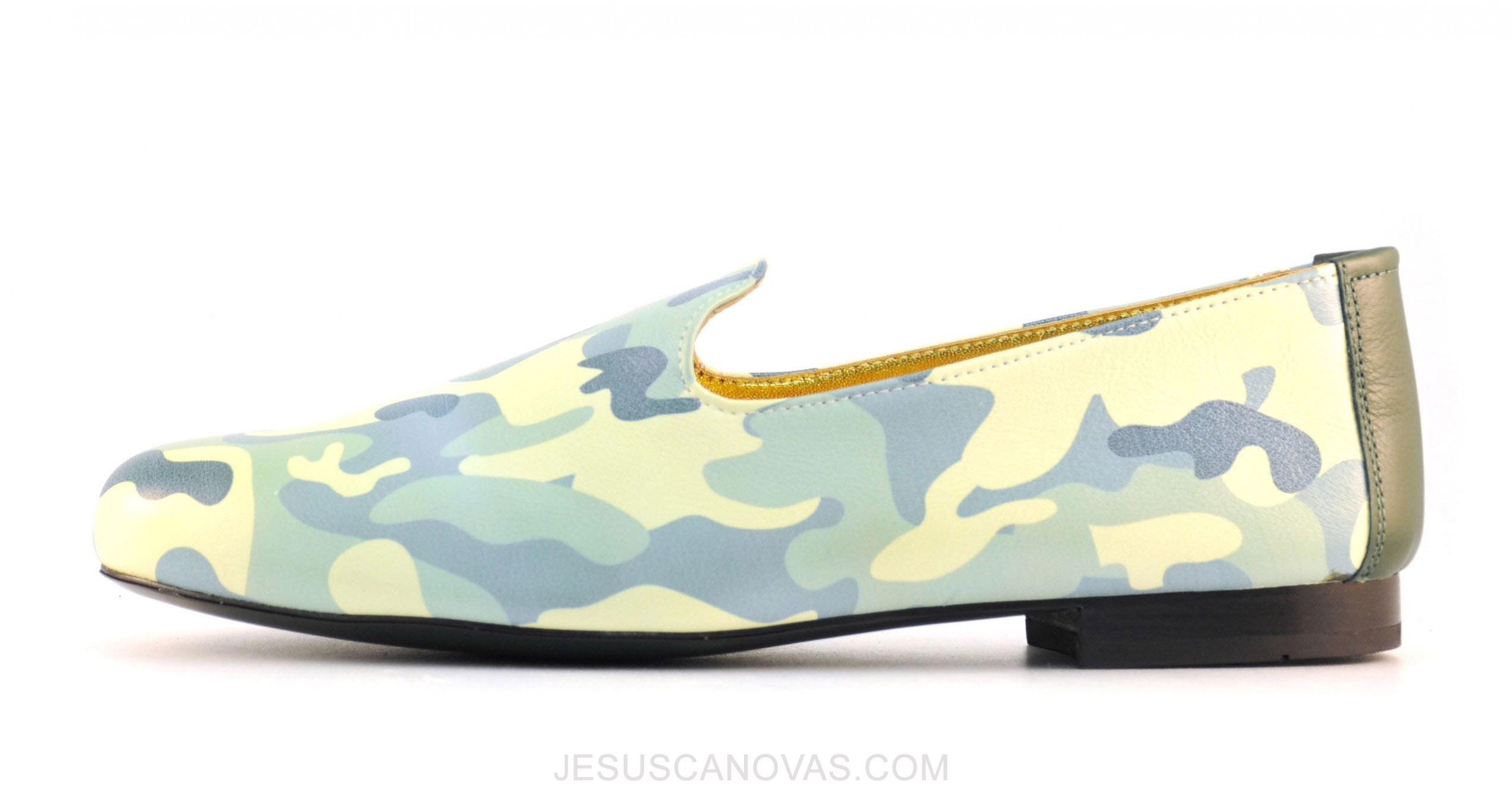 Foto 4 de Zapato Mocasin Mimic Camuflage - Napa Blanca Impresa
